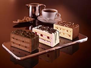 Обои Сладости Пирожное Шоколад Торты