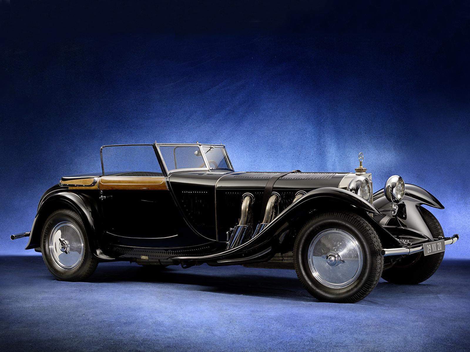 Фотографии Mercedes-Benz 680S Torpedo Roadster by Saoutchik 1928 Родстер Автомобили 1600x1200 Мерседес бенц авто машина машины автомобиль