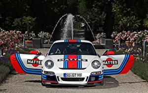 Картинки Порше Спереди 2013 911 GT3 Cam Shaft Автомобили