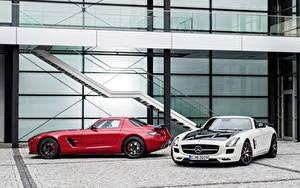 Фотография Mercedes-Benz Родстер 2013 SLS 63 AMG GT roadster авто