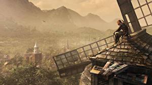 Картинка Assassin's Creed Мельницы Игры 3D_Графика