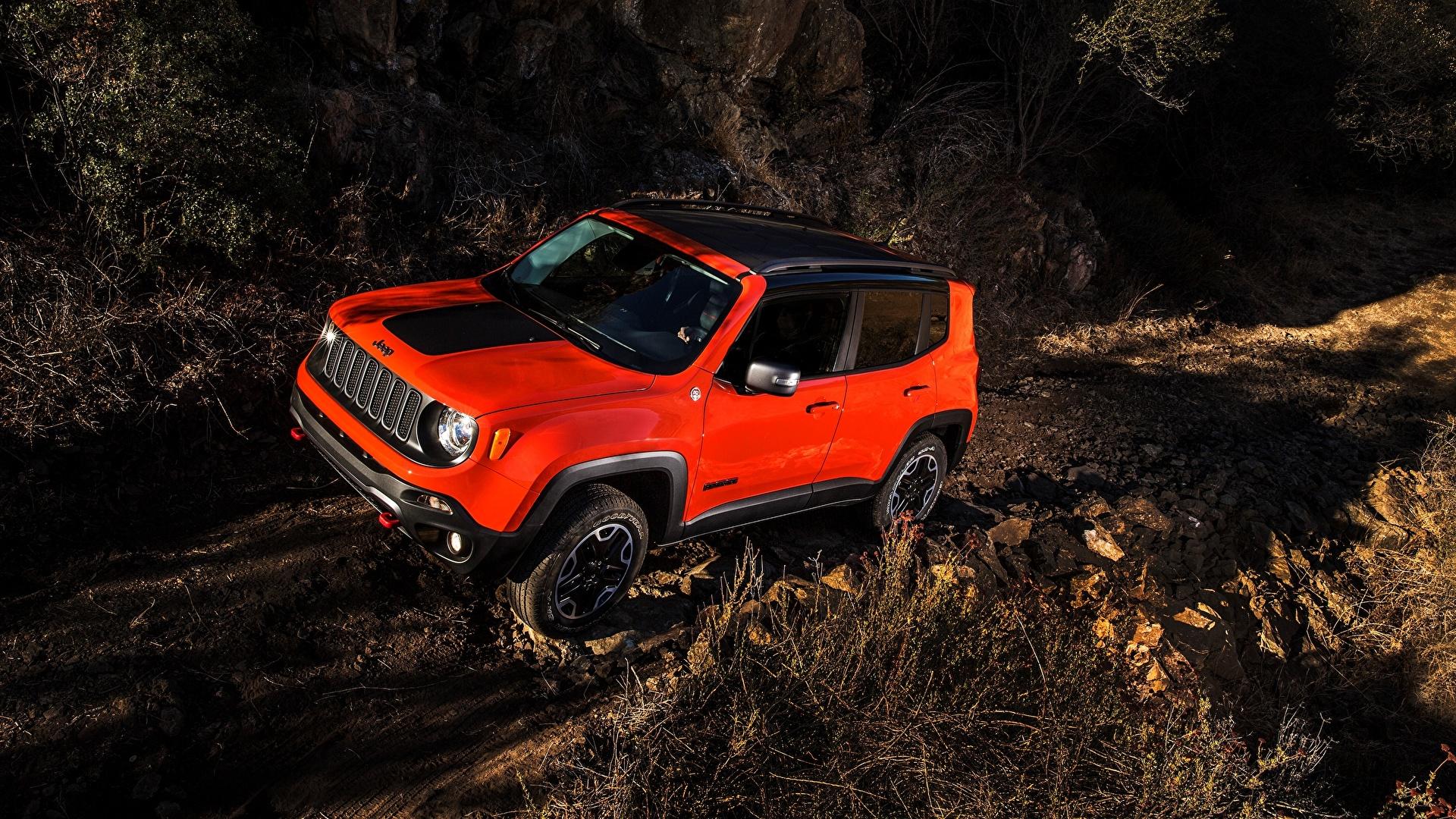 Обои renegade, 2015, джип, trailhawk, jeep. Автомобили foto 11