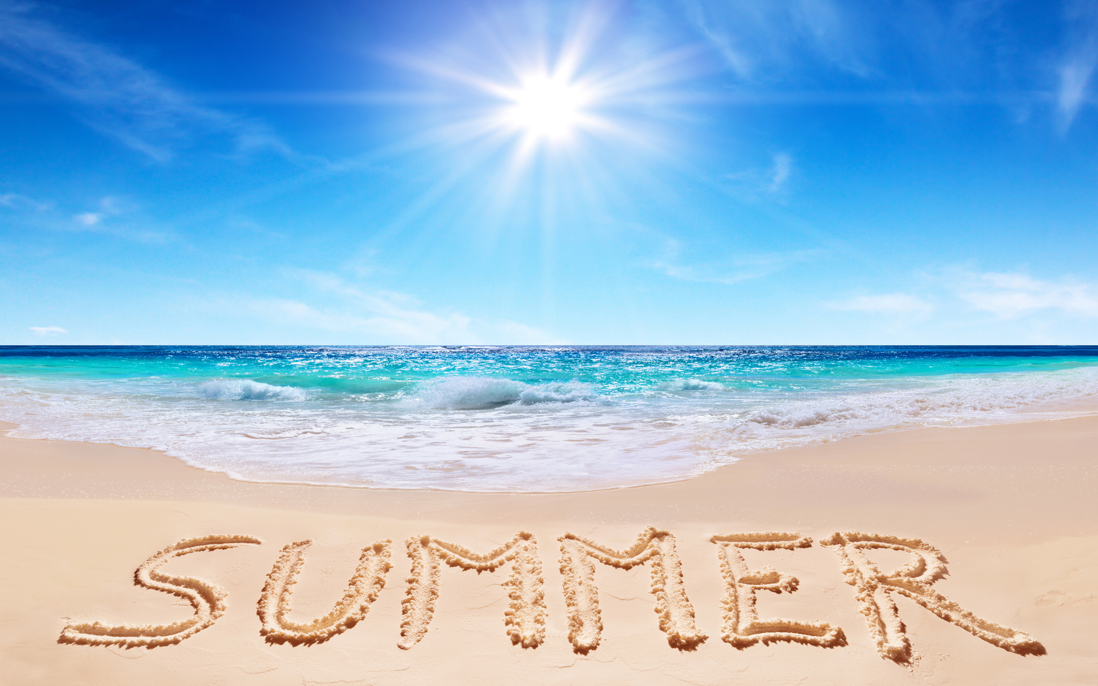 пляж лето фото