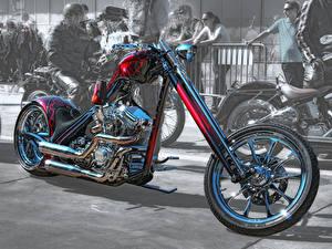 Фотография Harley-Davidson Кастомайзинг HDRI