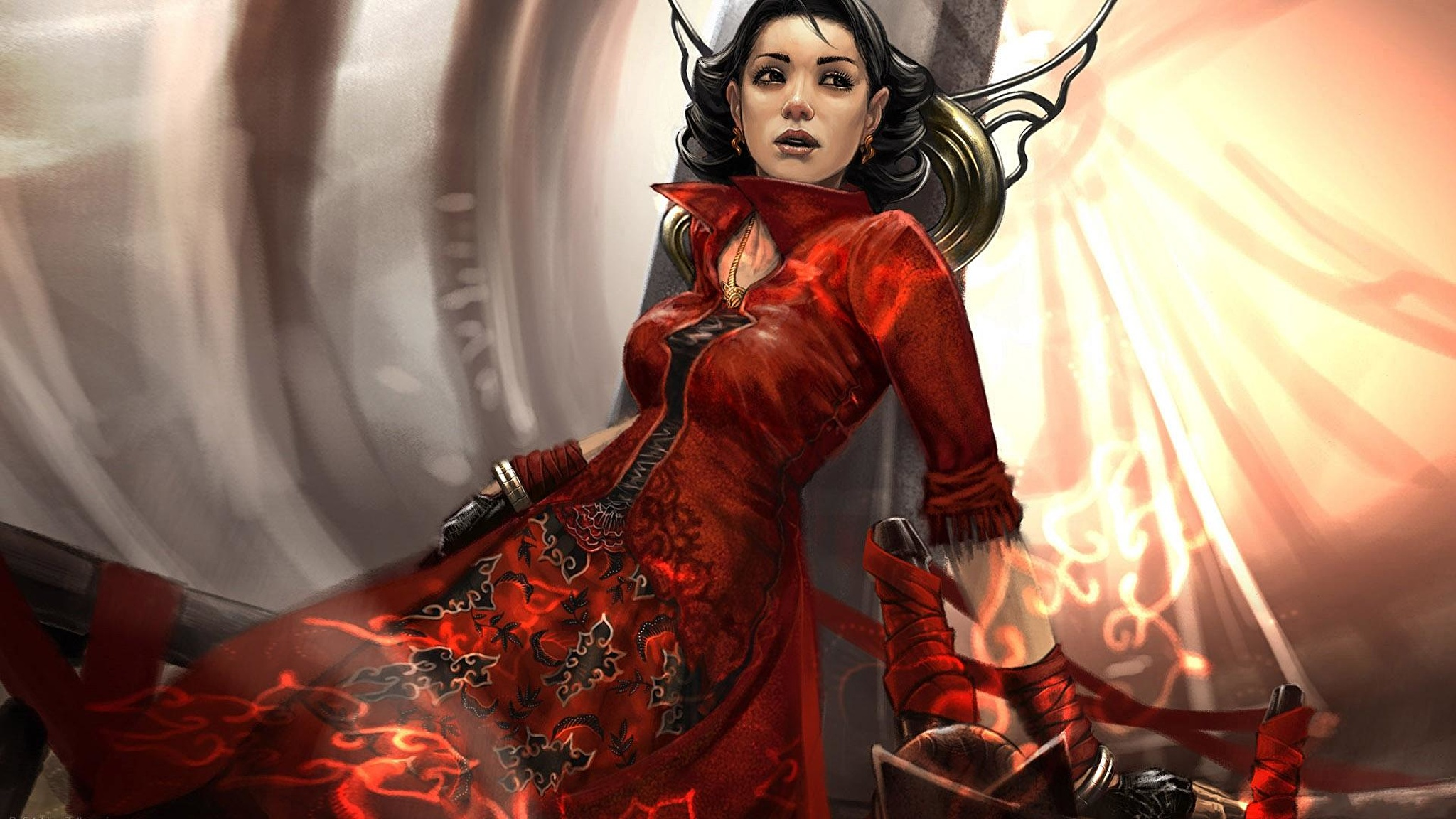 Красный девушка фантастика без регистрации