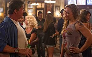 Обои Неудержимые Sylvester Stallone Мужчины 3, Ronda Jean Rousey кино Знаменитости Девушки
