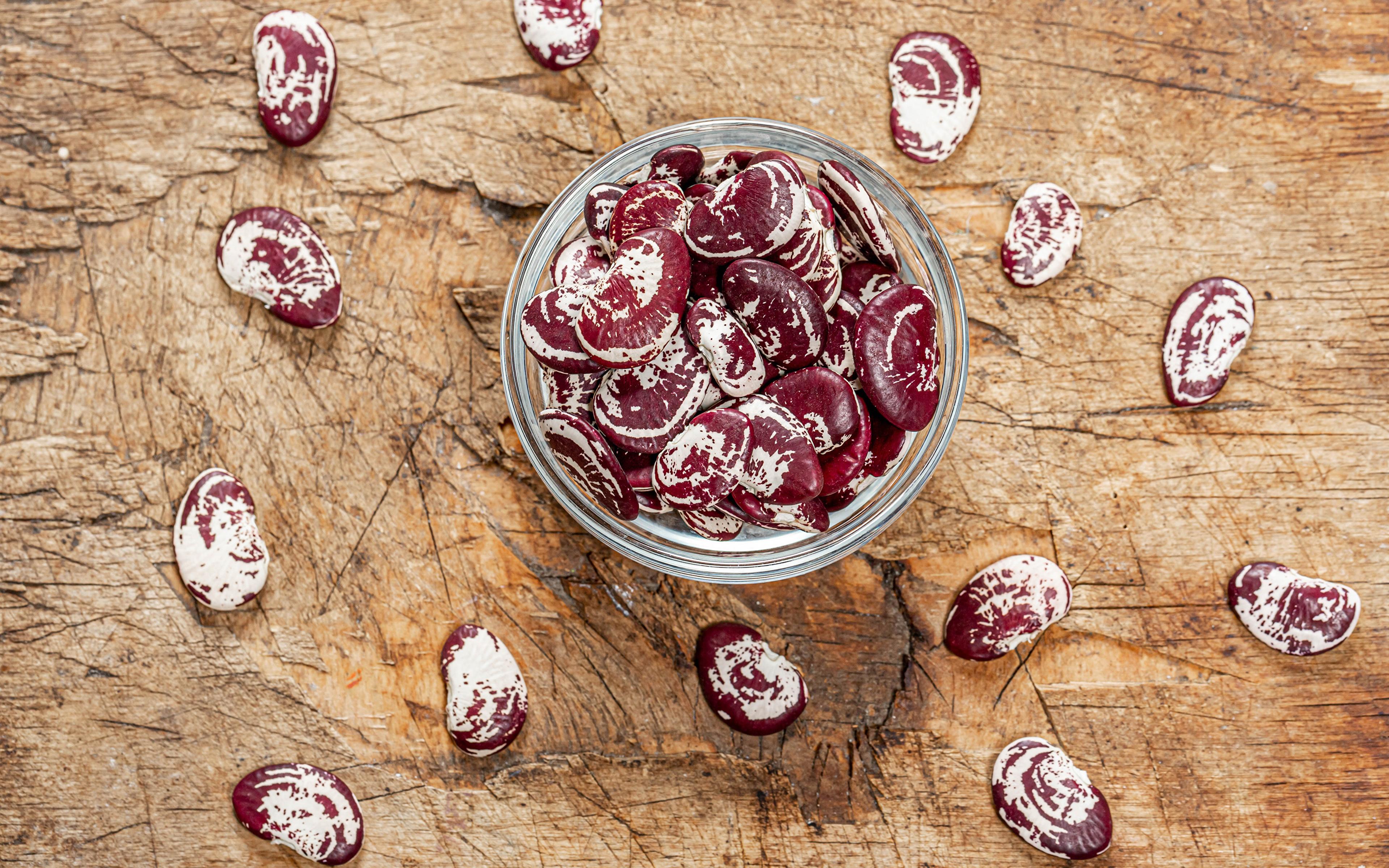 Картинка Фасоль бобы Пища Овощи 3840x2400 Еда Продукты питания
