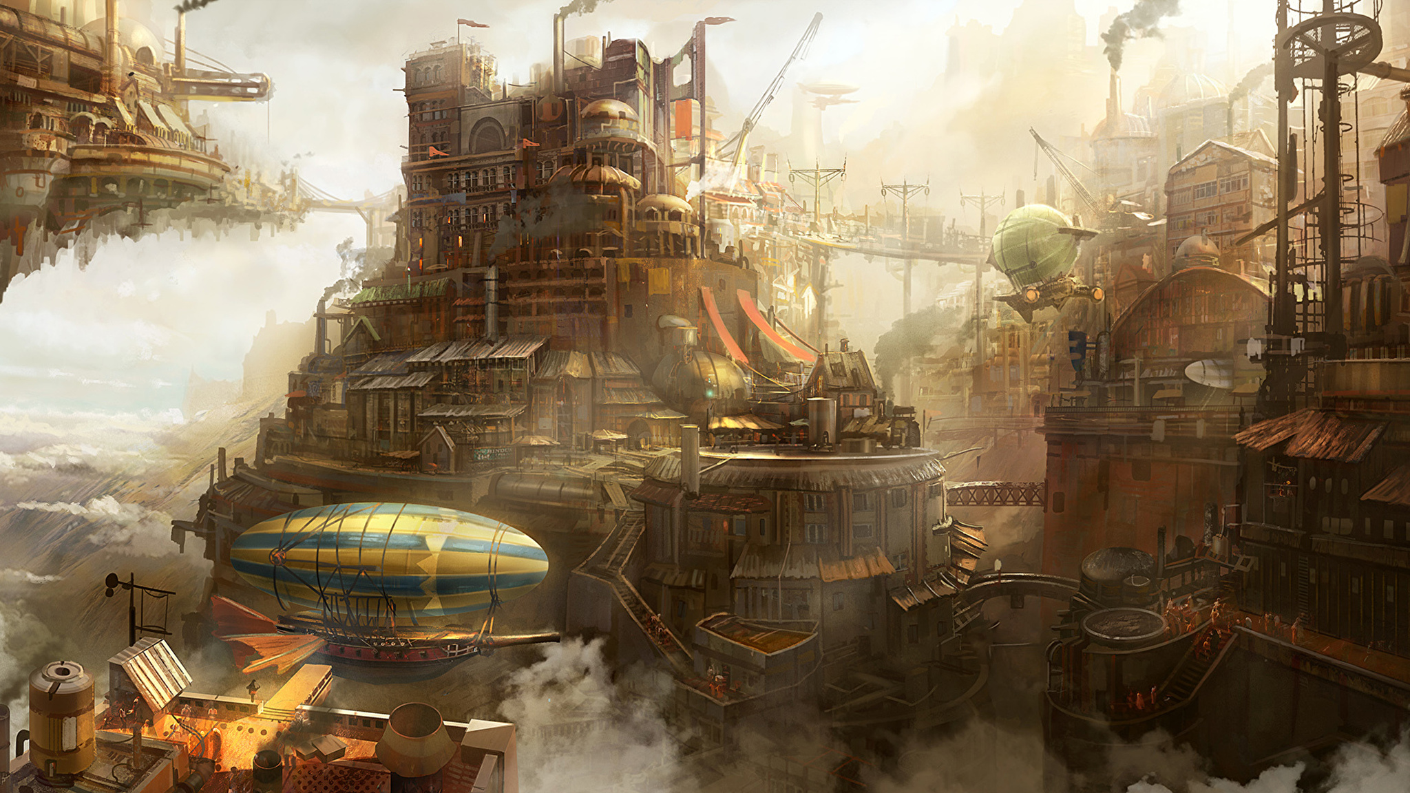 steampunk city names - HD 2000×1042