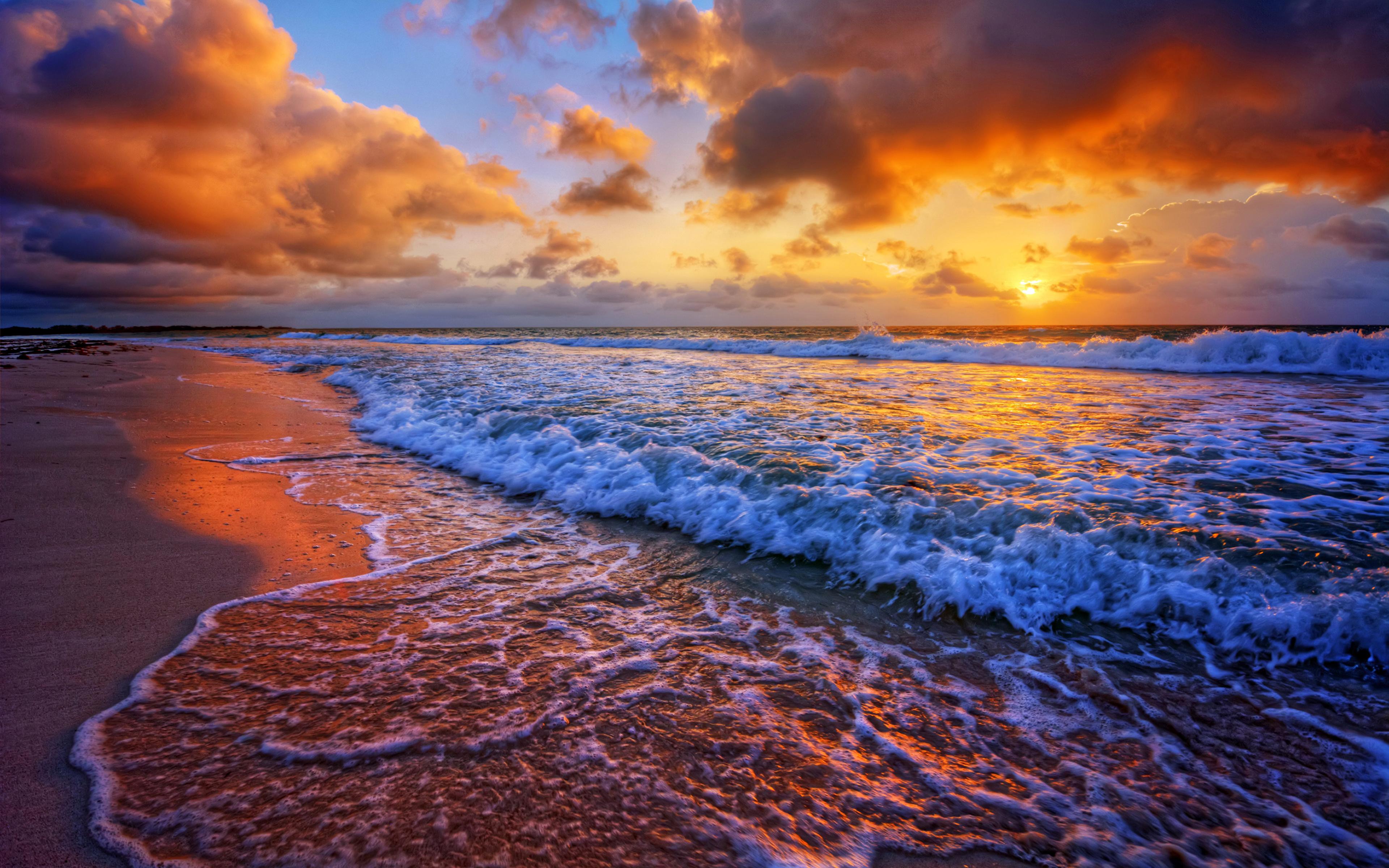 морской бриз на закате скачать