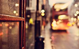 Картинка Крупным планом Англия Улиц Окно Лондон