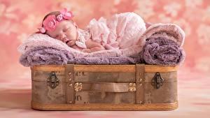 Фотографии Младенцы Спящий Дети