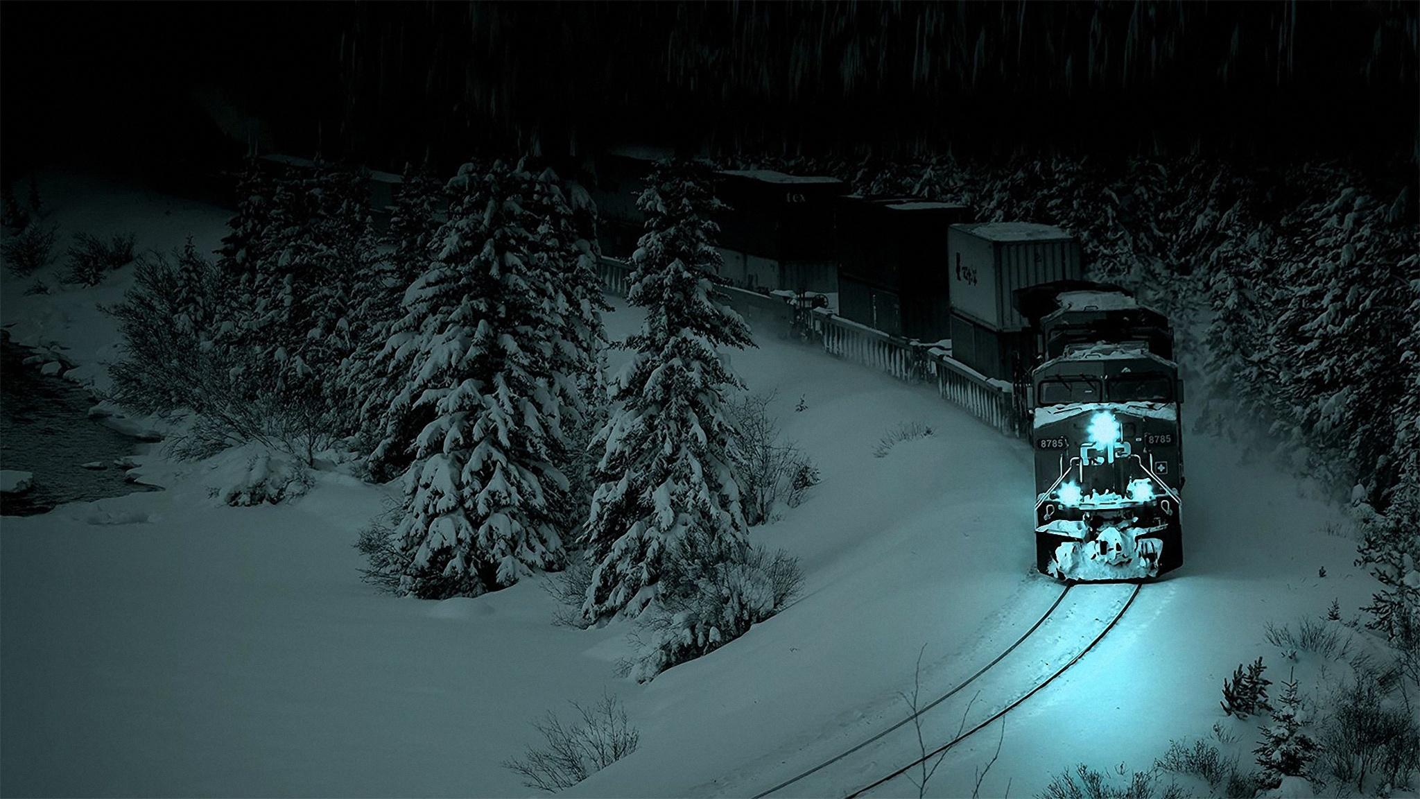 поезд графика ночь луна мрак без регистрации