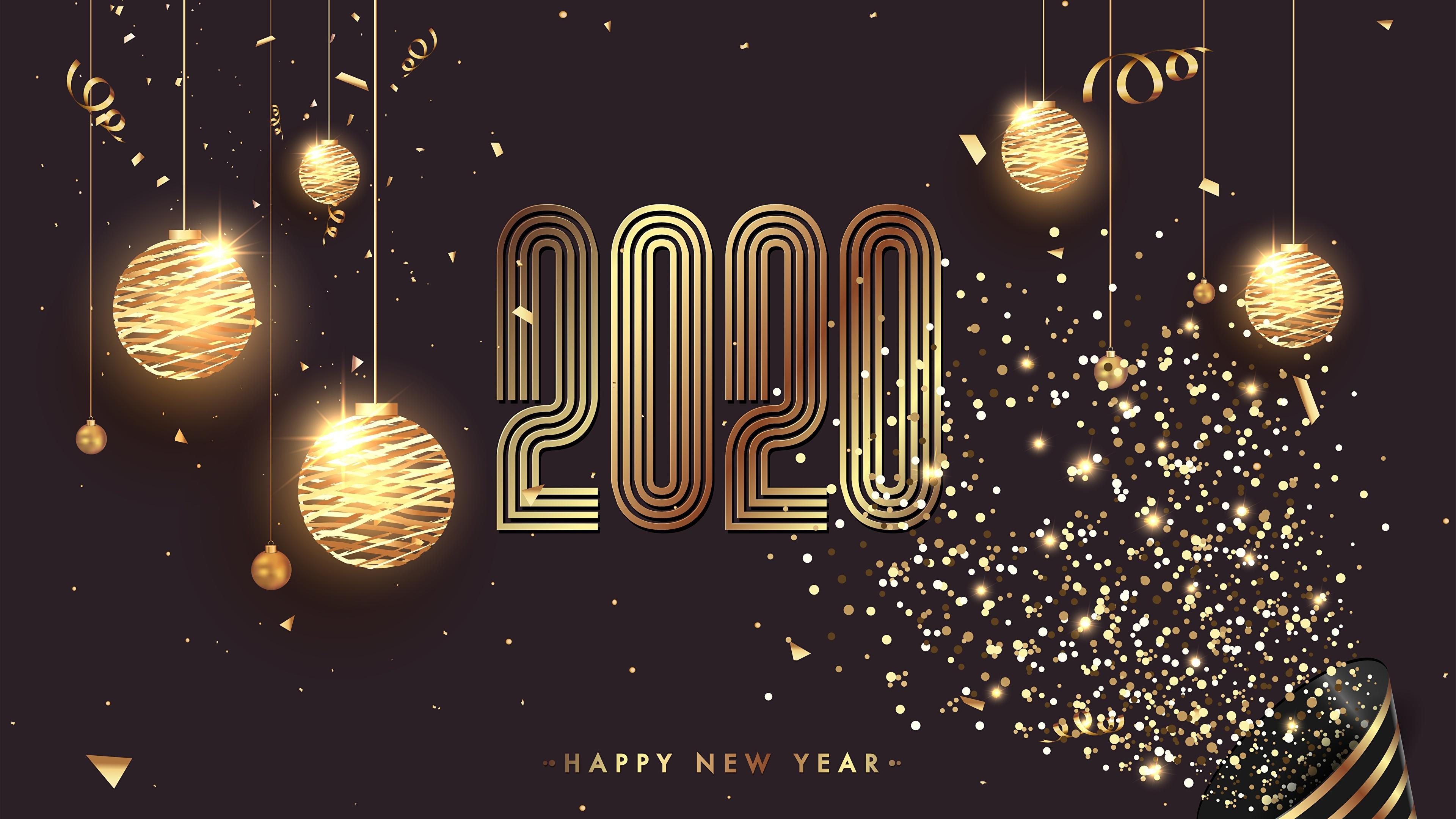 Скачать картинки новый год 2020 на рабочий стол