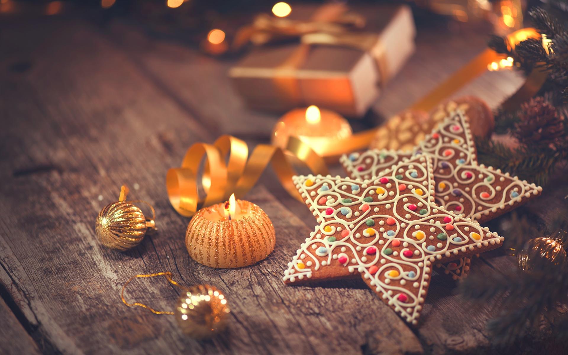 Поздравления Cookies_Christmas_Candles_Star_decoration_574553_1920x1200