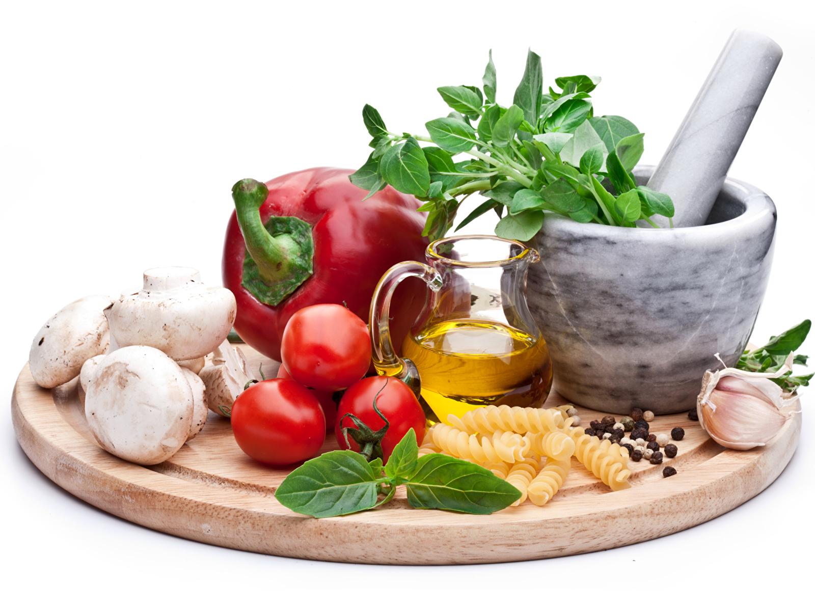 Картинка Помидоры Чеснок кувшины Еда Овощи Перец 1600x1200 Томаты Кувшин Пища перец овощной Продукты питания