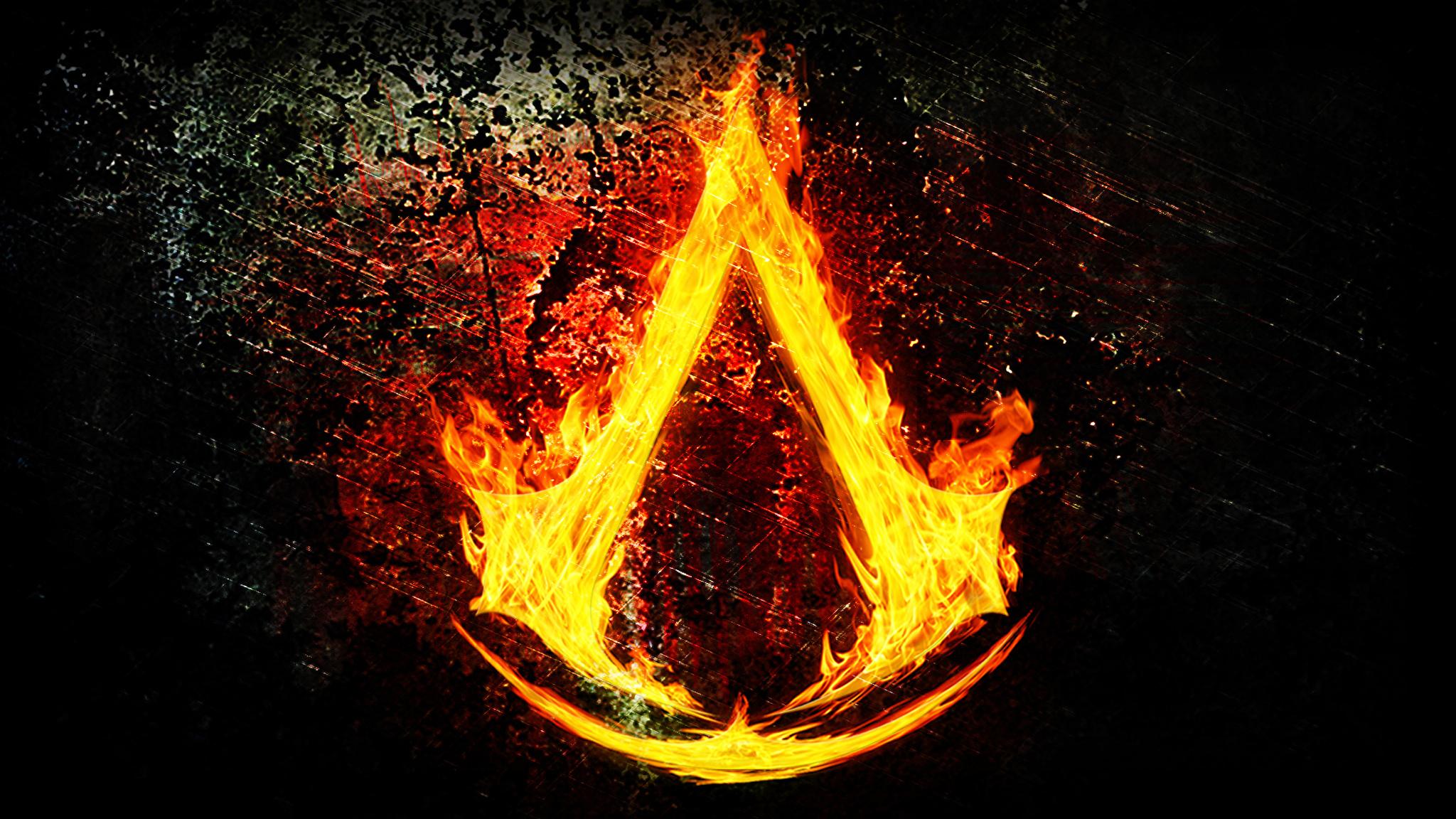 Логотип огонь