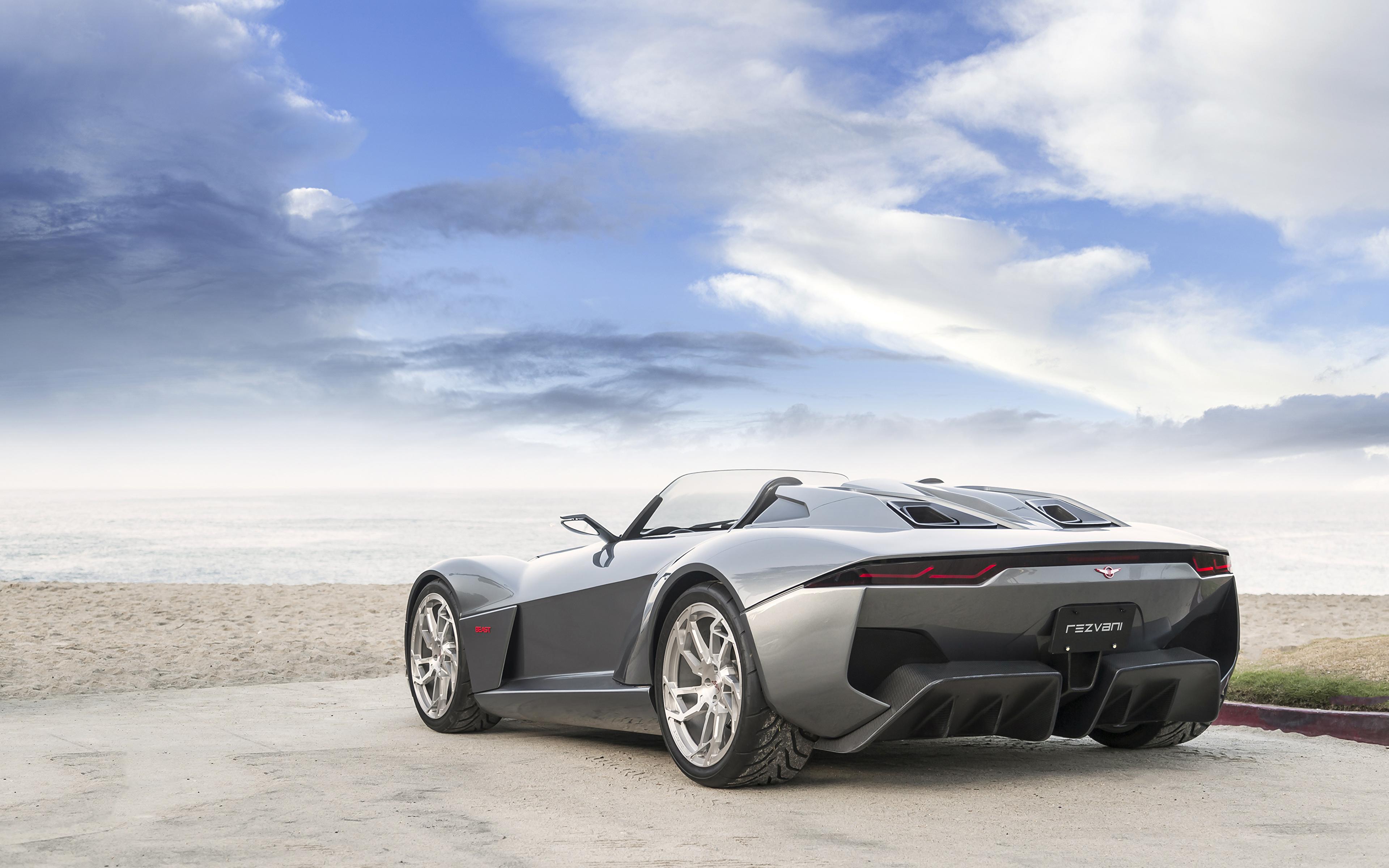 спортивный автомобиль серый rezvani motors без смс