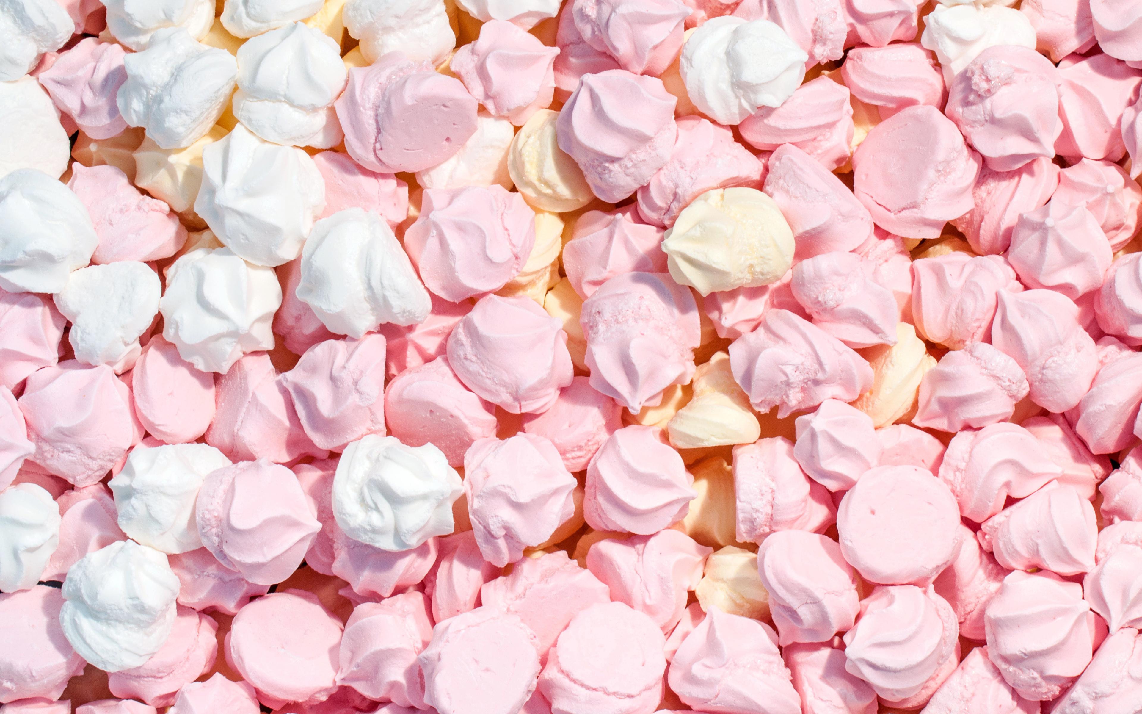Картинка Beze Продукты питания Много сладкая еда 3840x2400 Еда Пища Сладости