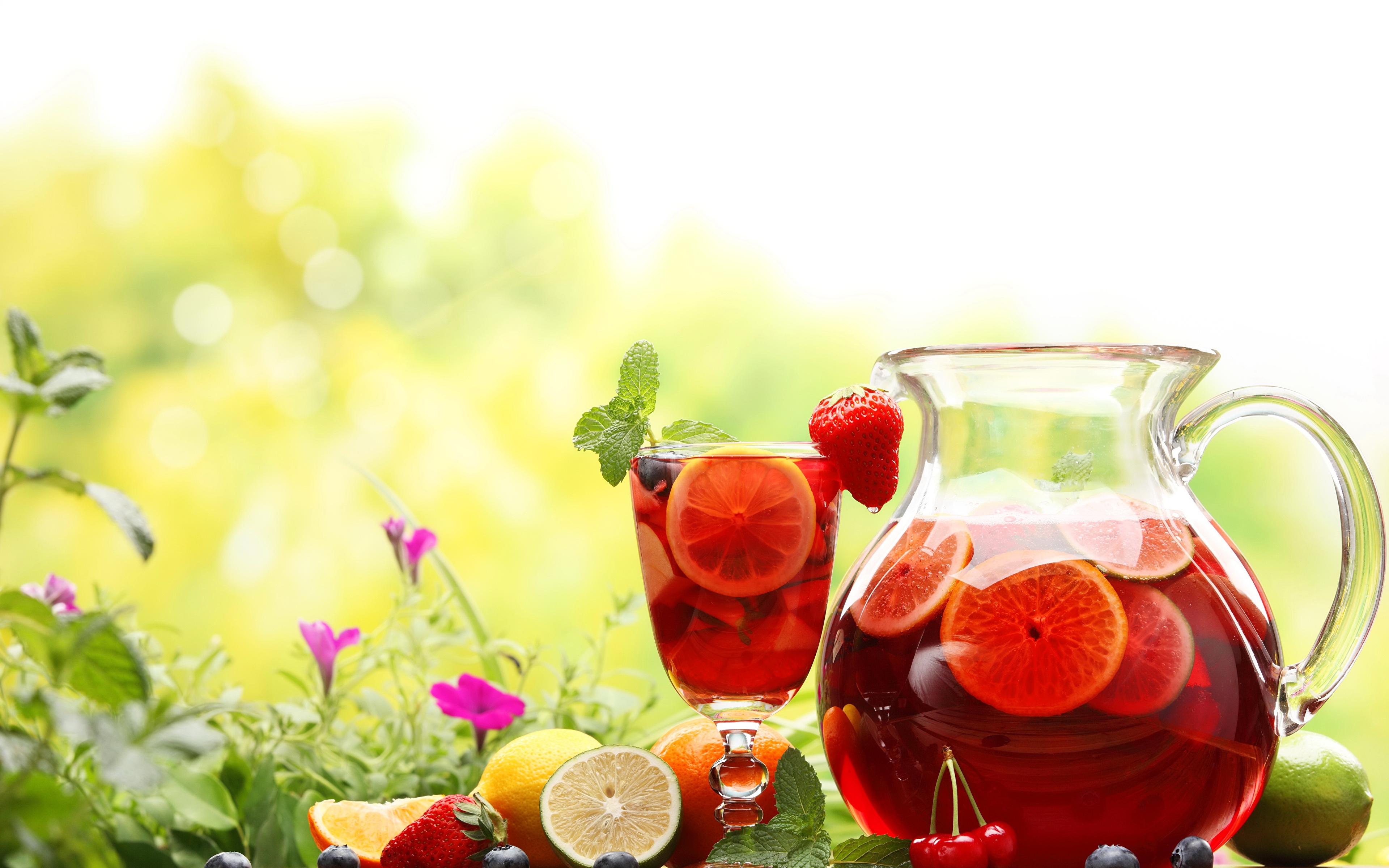 Обои напиток, кувшин, чай, стакан. Еда foto 7