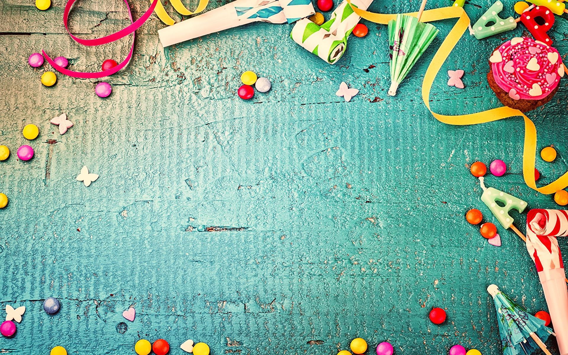 Фотография День рождения Драже Шаблон поздравительной открытки 1920x1200
