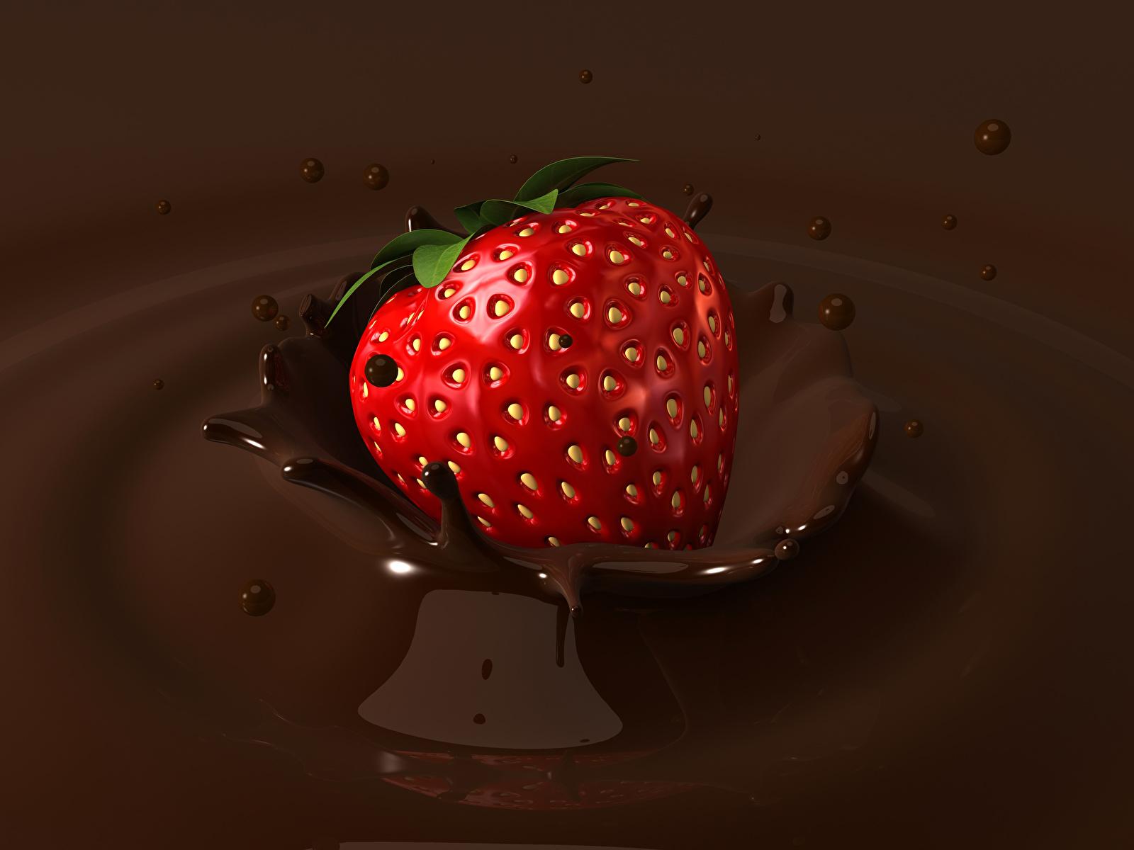 Горячий шоколад с фруктами скачать