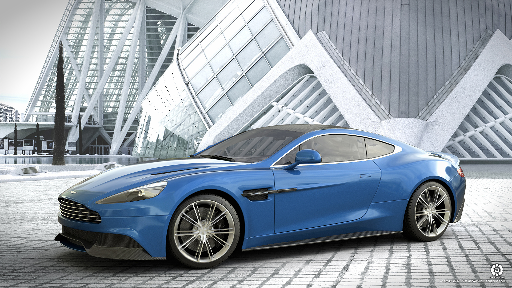 синий автомобиль aston martin gulf анонимно