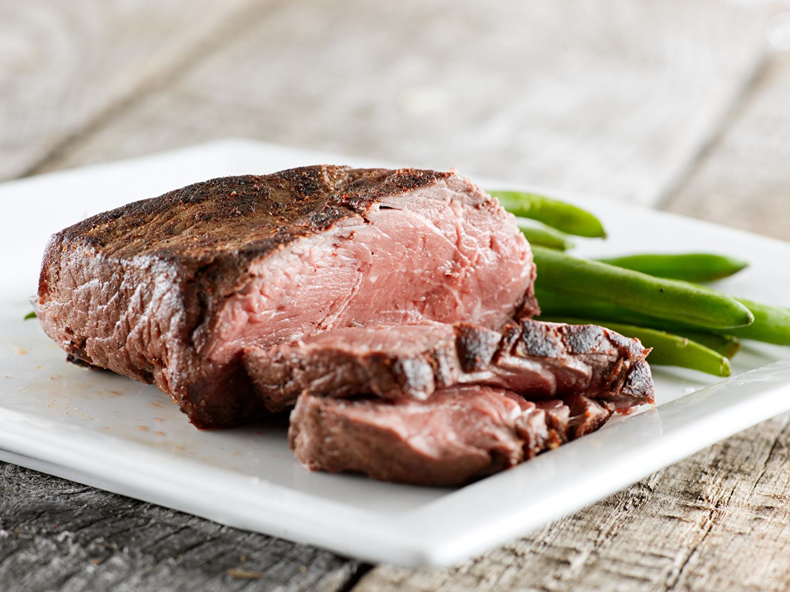 Обои для рабочего стола Ветчина Продукты питания Мясные продукты 1600x1200 Еда Пища