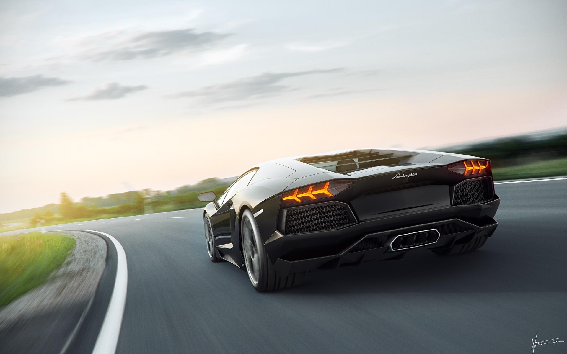 Обои Lamborghini Aventador LP 700-4 Vorsteiner Tuning Car, оранжевый, hd. Автомобили foto 15