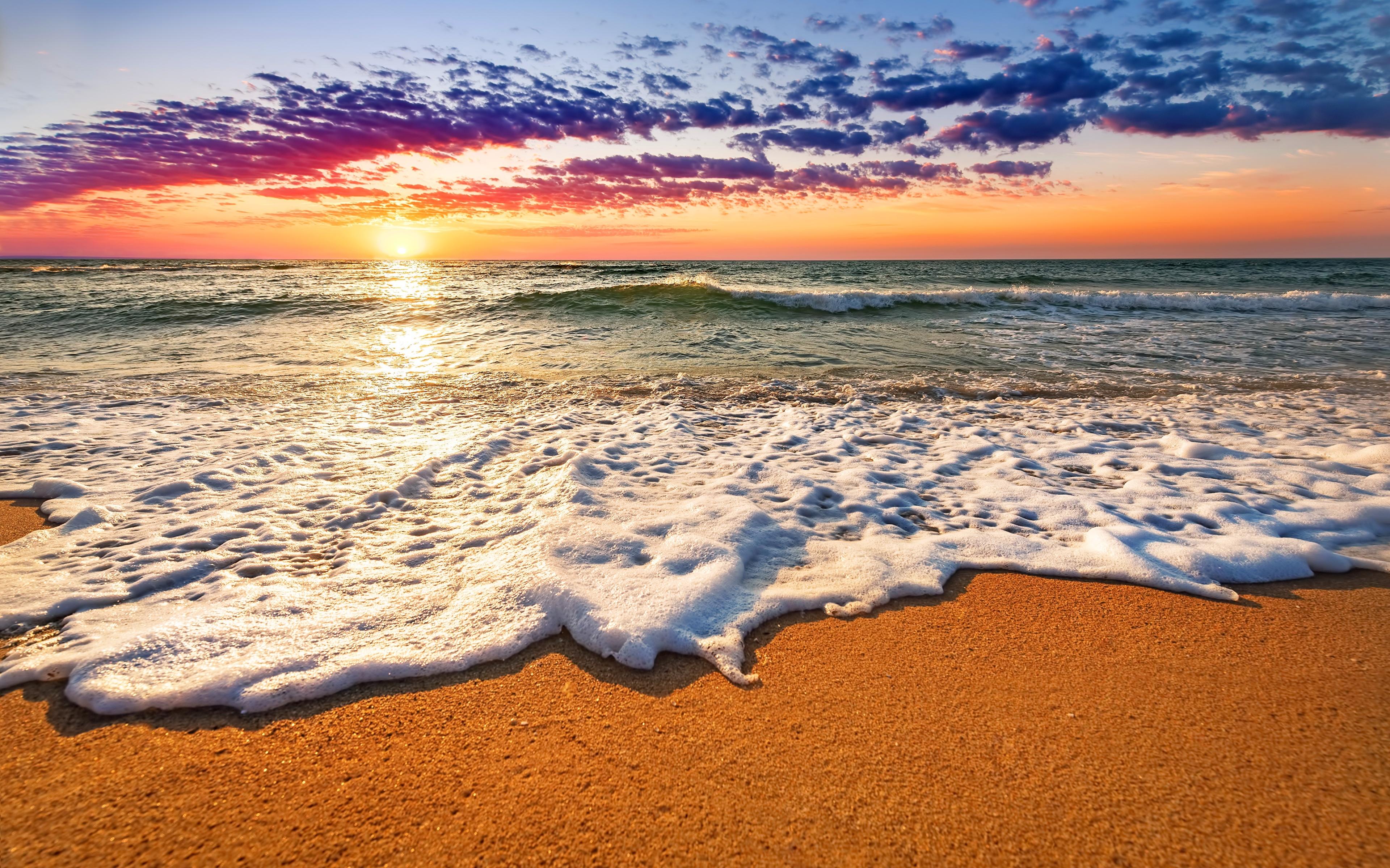 Пена на берегу загрузить