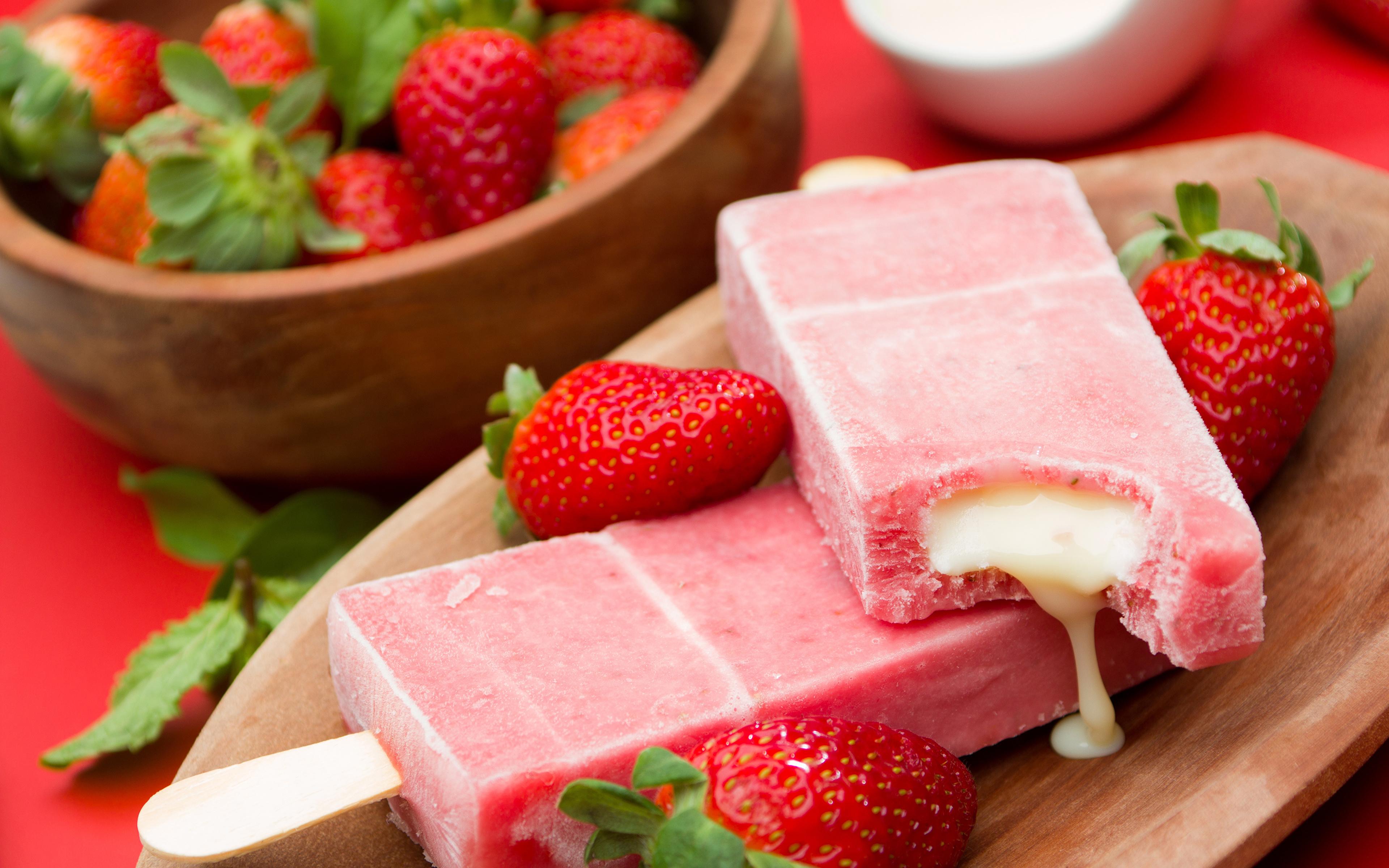 еда клубника лед food strawberry ice загрузить
