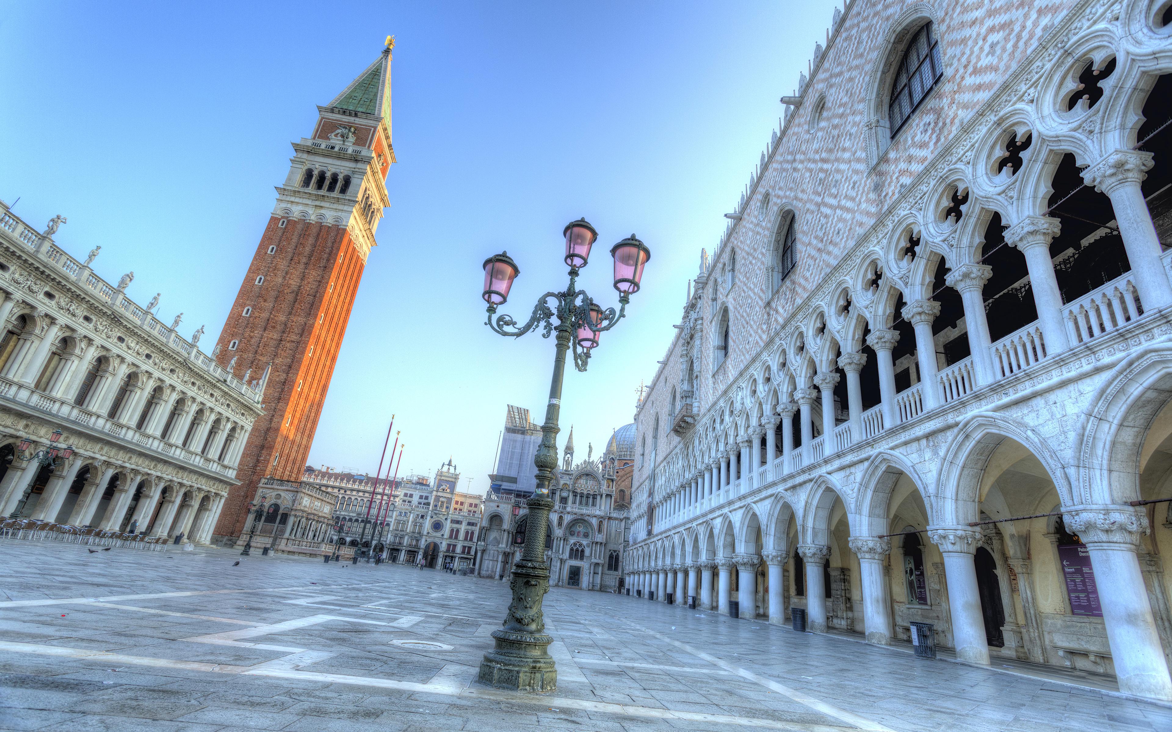 Обои piazza san marco, venice, italy. Города foto 8