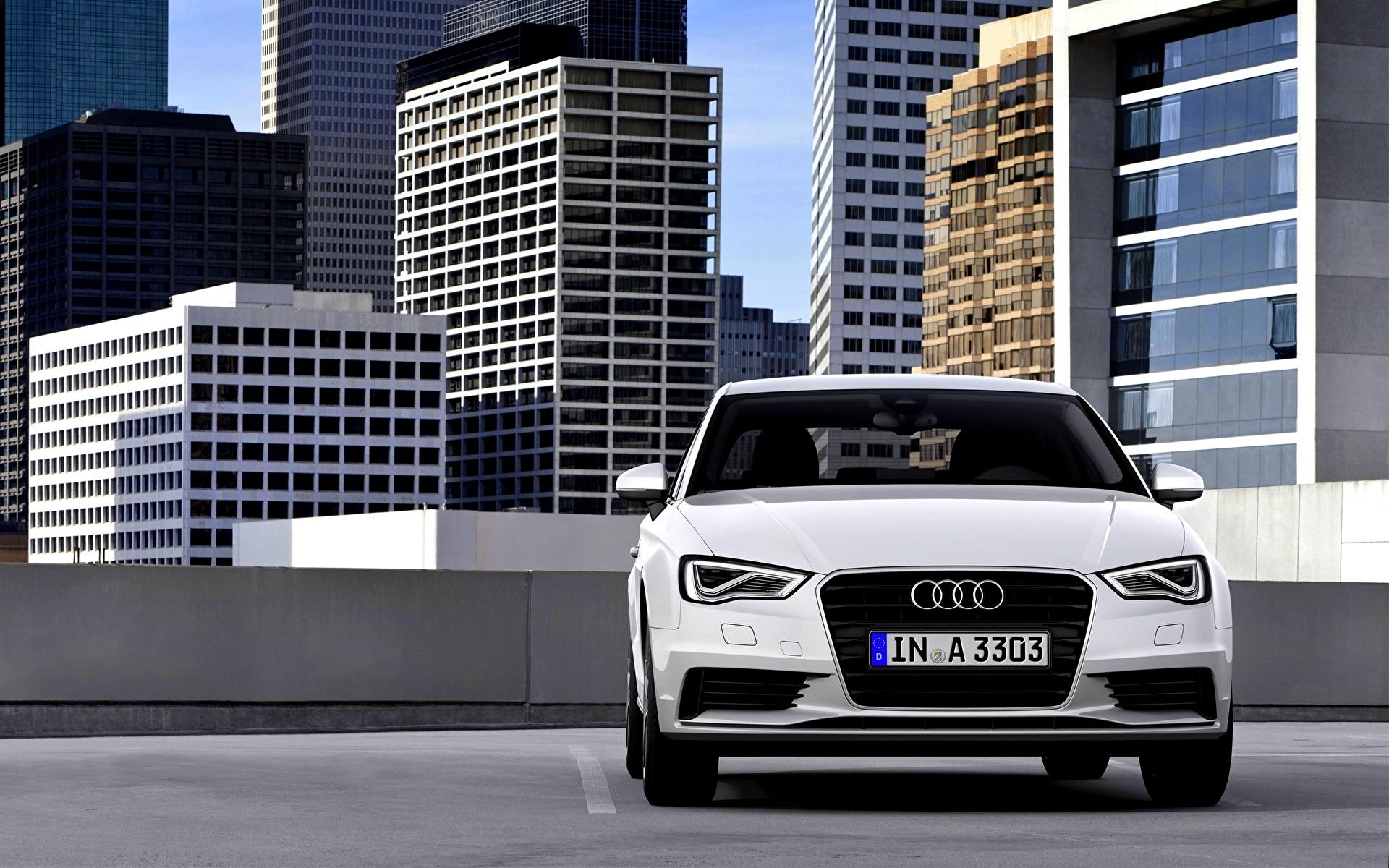 Audi седан здание бесплатно