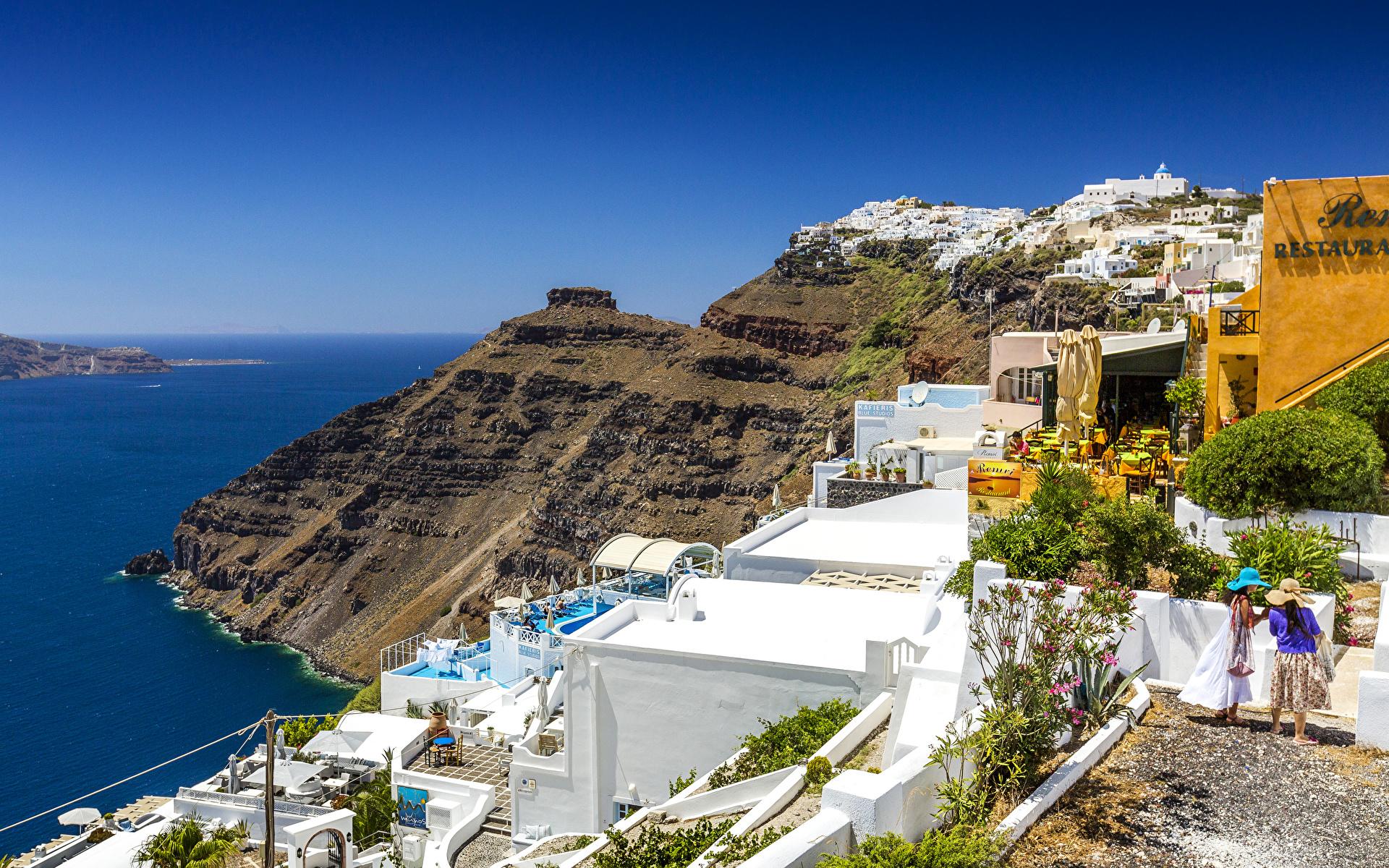 Обои побережье, greece, coast, греция. Города foto 10