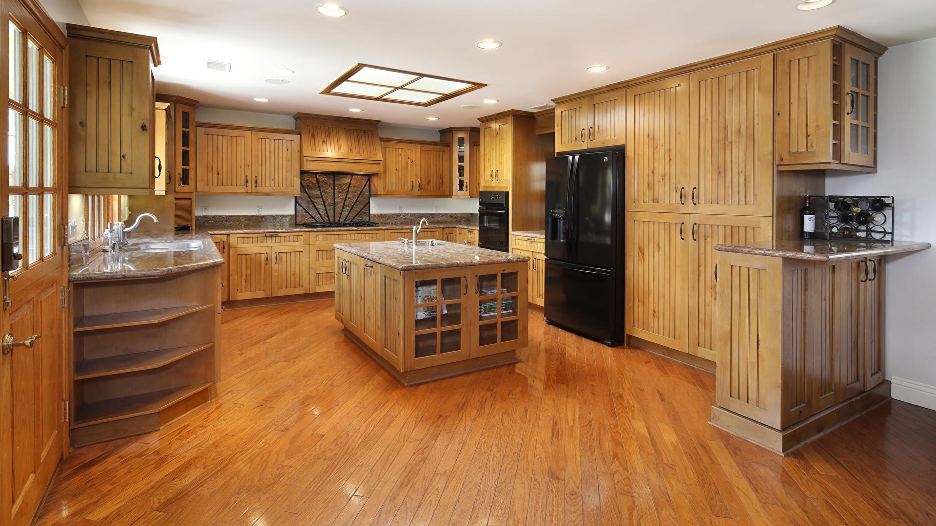 Обои для рабочего стола кухни потолка Интерьер Стол дизайна 1920x1080 Кухня Потолок столы стола Дизайн