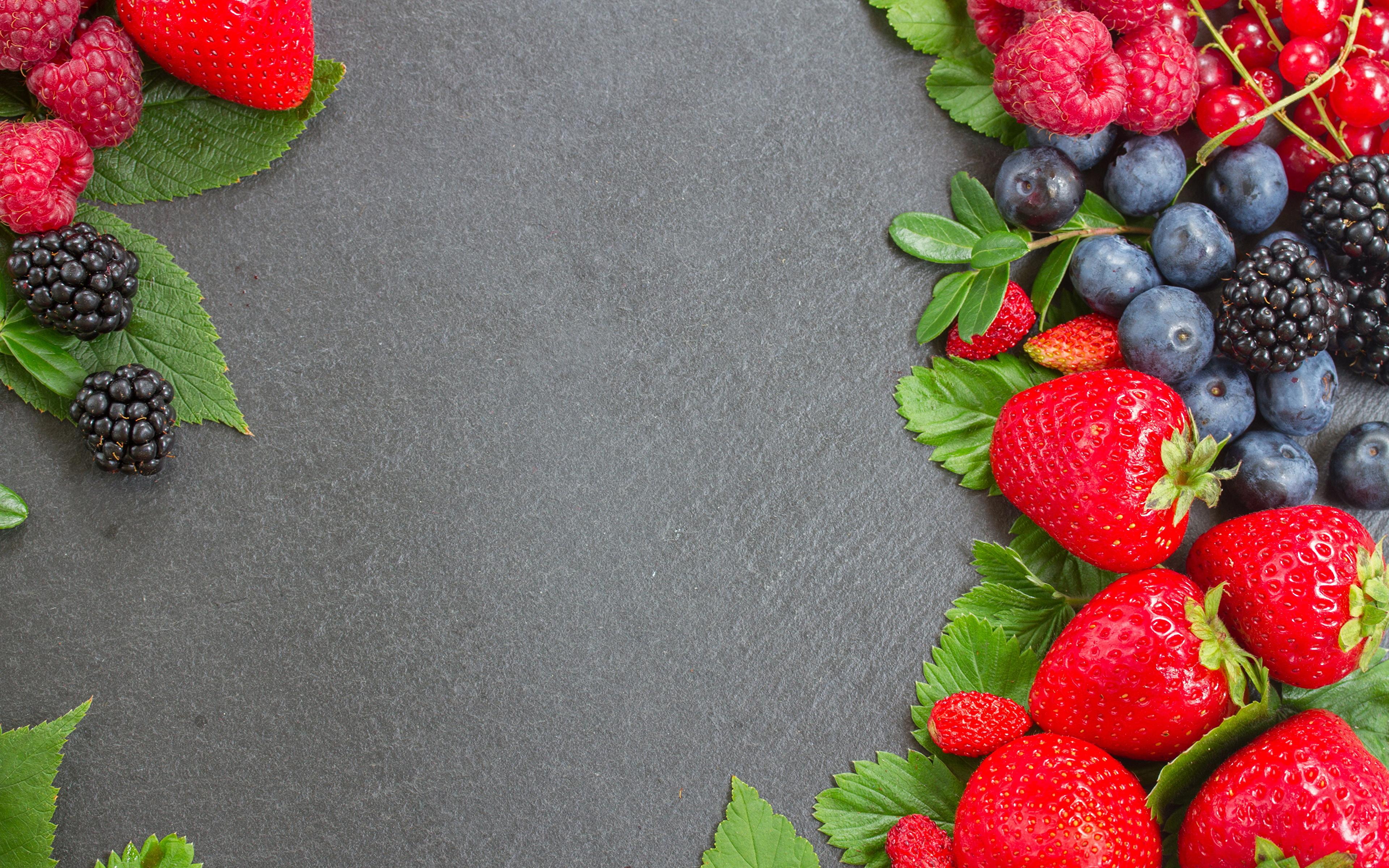 Малина, клубника, ягоды скачать