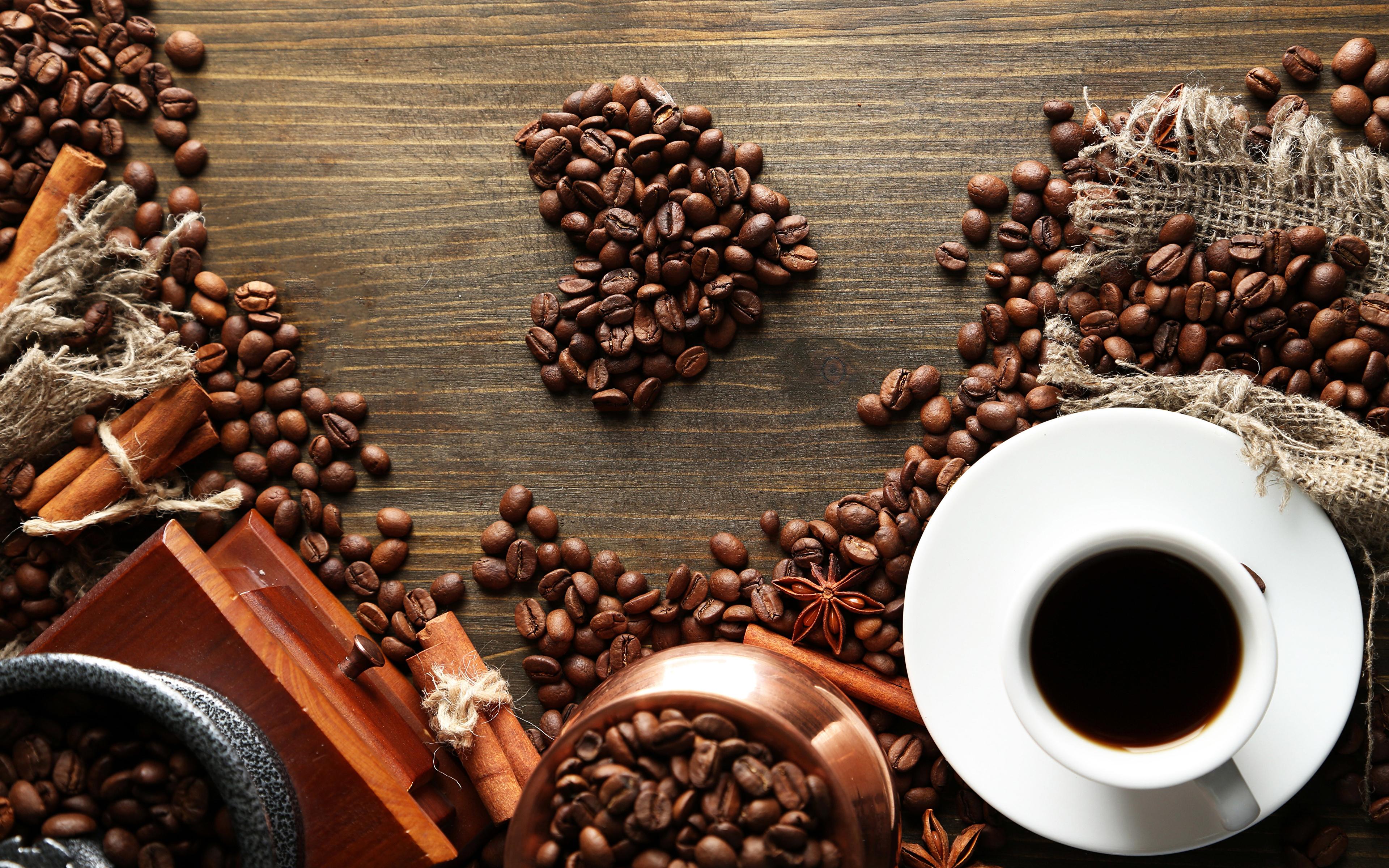 Кружка из кофейных зерен загрузить