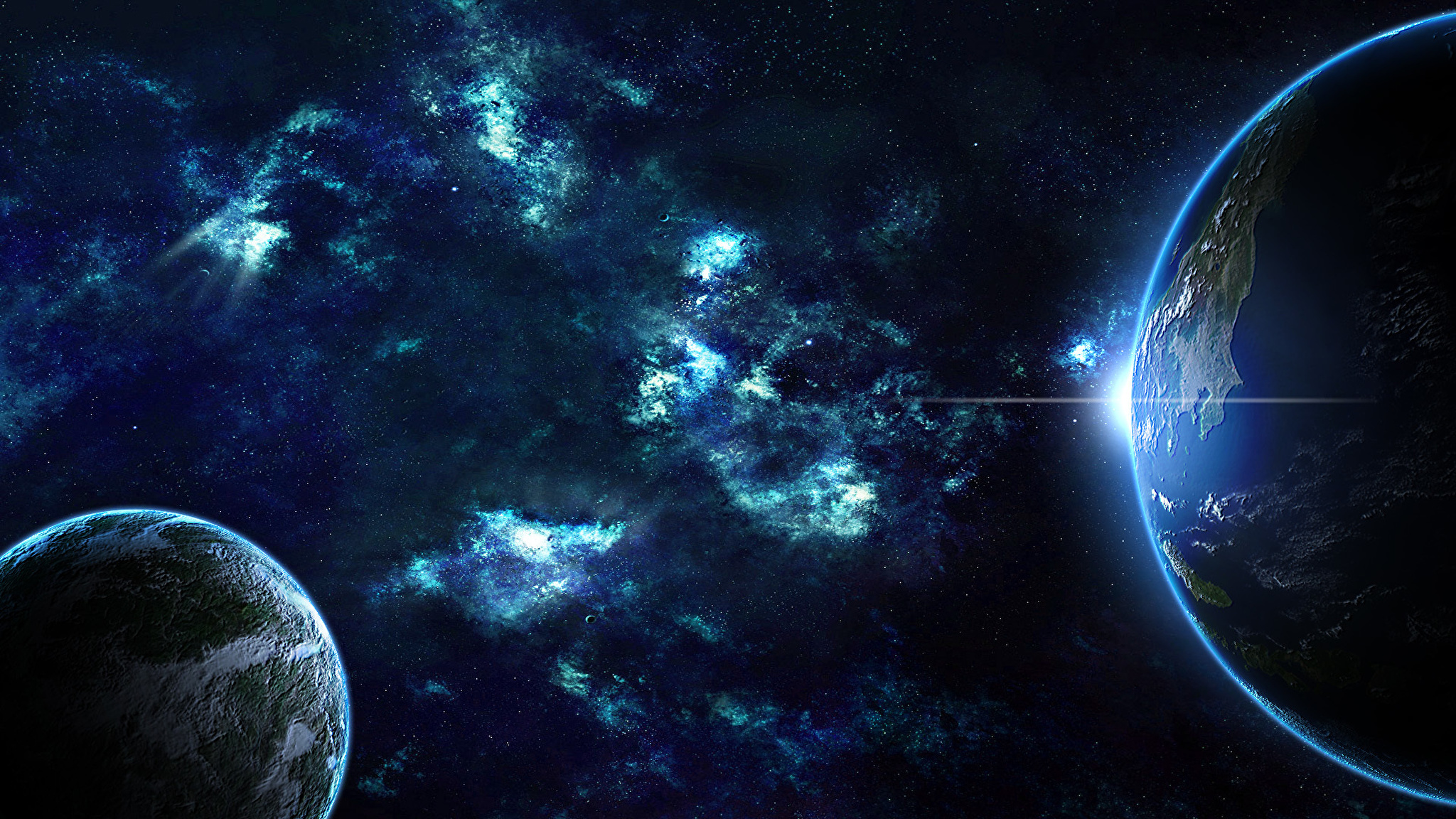 planets and stars - HD1920×1080