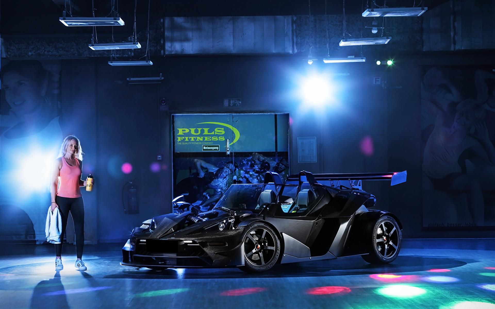 Картинки KTM Автомобили 2018-19 Wimmer RS X-Bow Carbon DSG Черный авто 1920x1200 КТМ черная черные черных машина машины Автомобили автомобиль