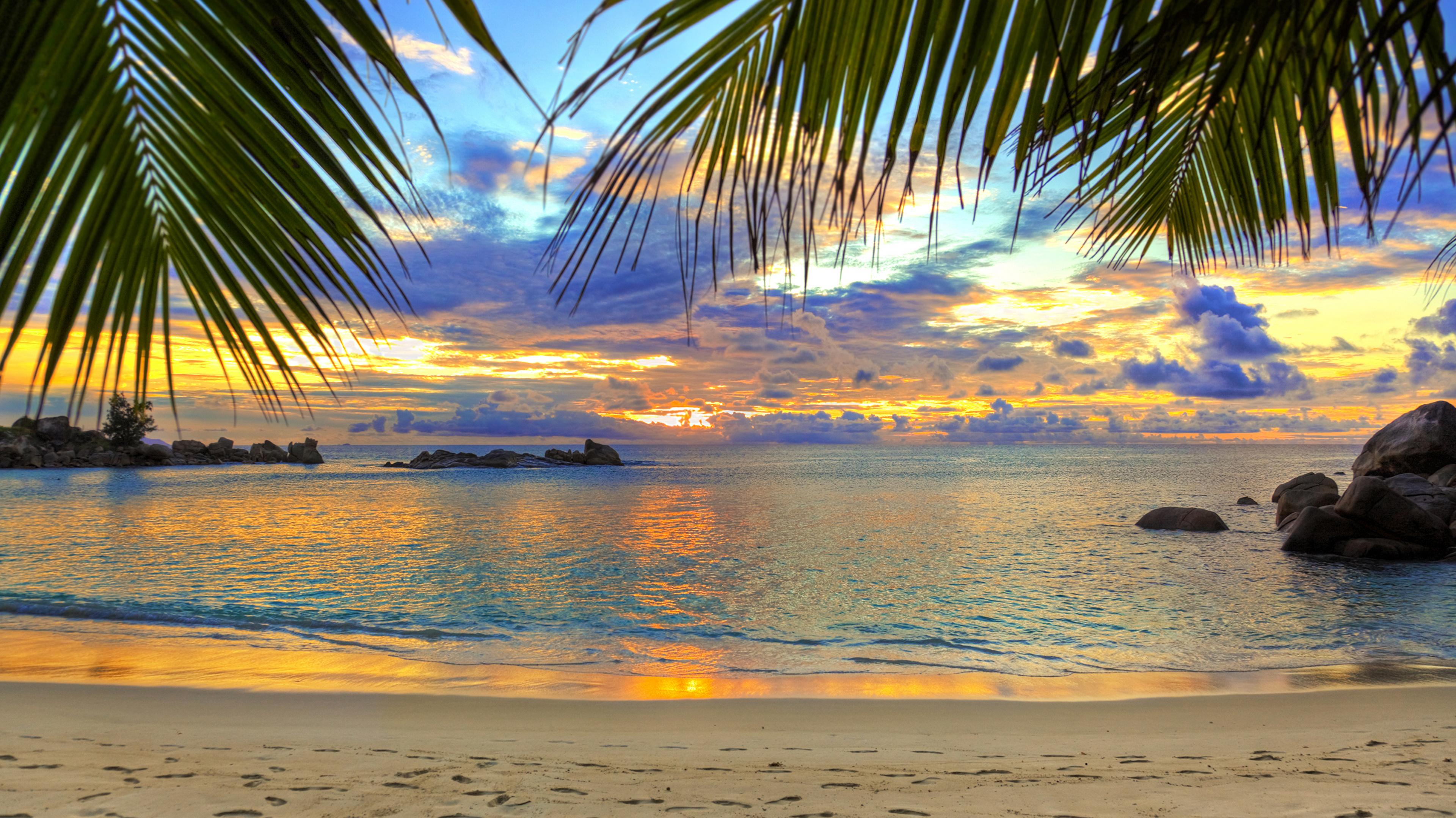Море и пляж фото на рабочий стол