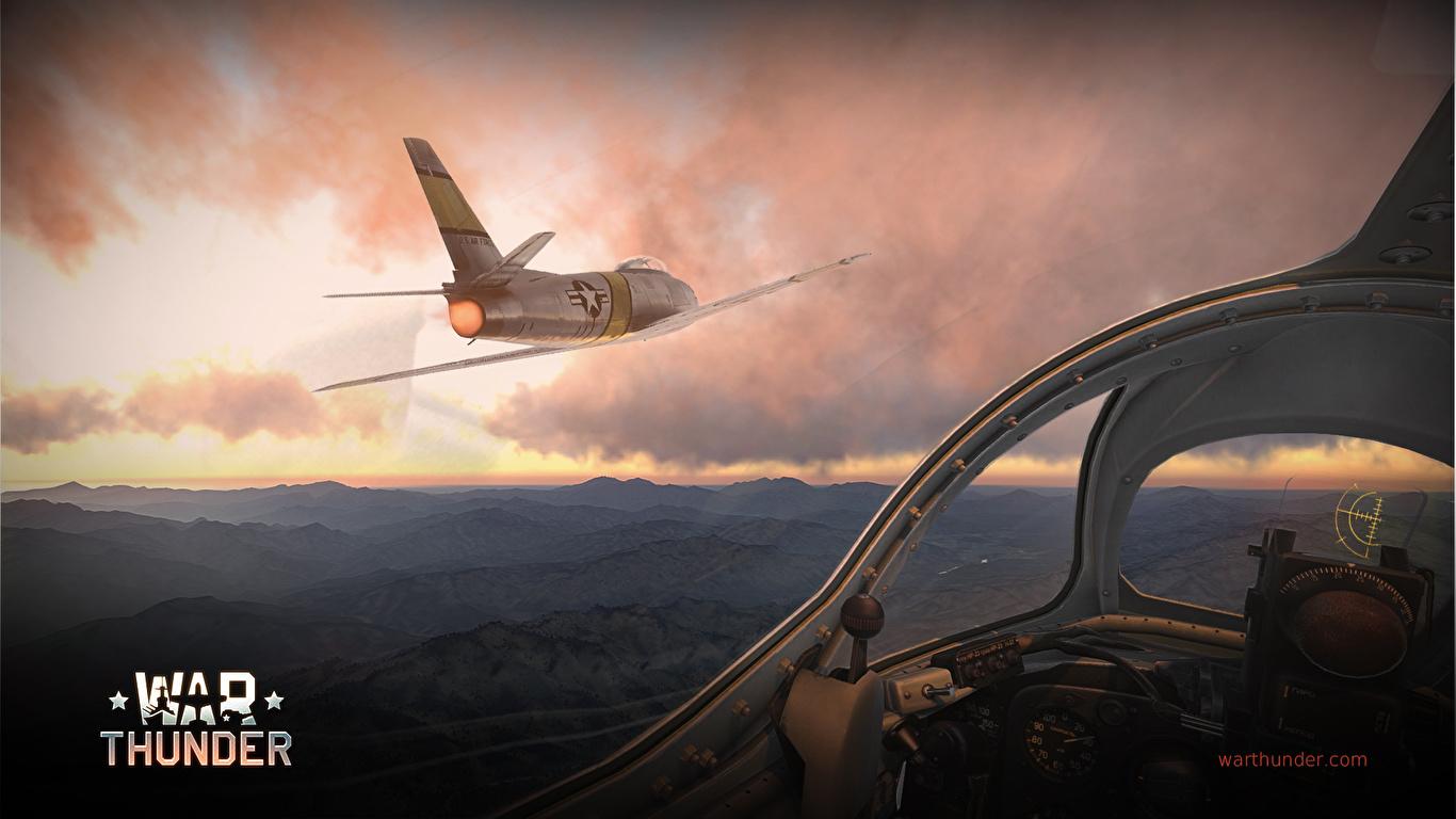 Обои F-86 Sabre, Самолёт. Авиация foto 14