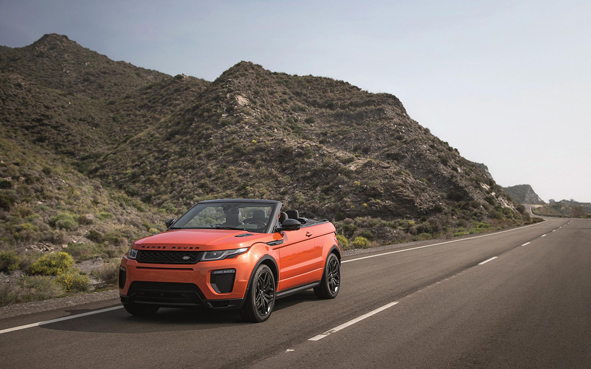 Автомобиль джип range rover evoque convertible бесплатно