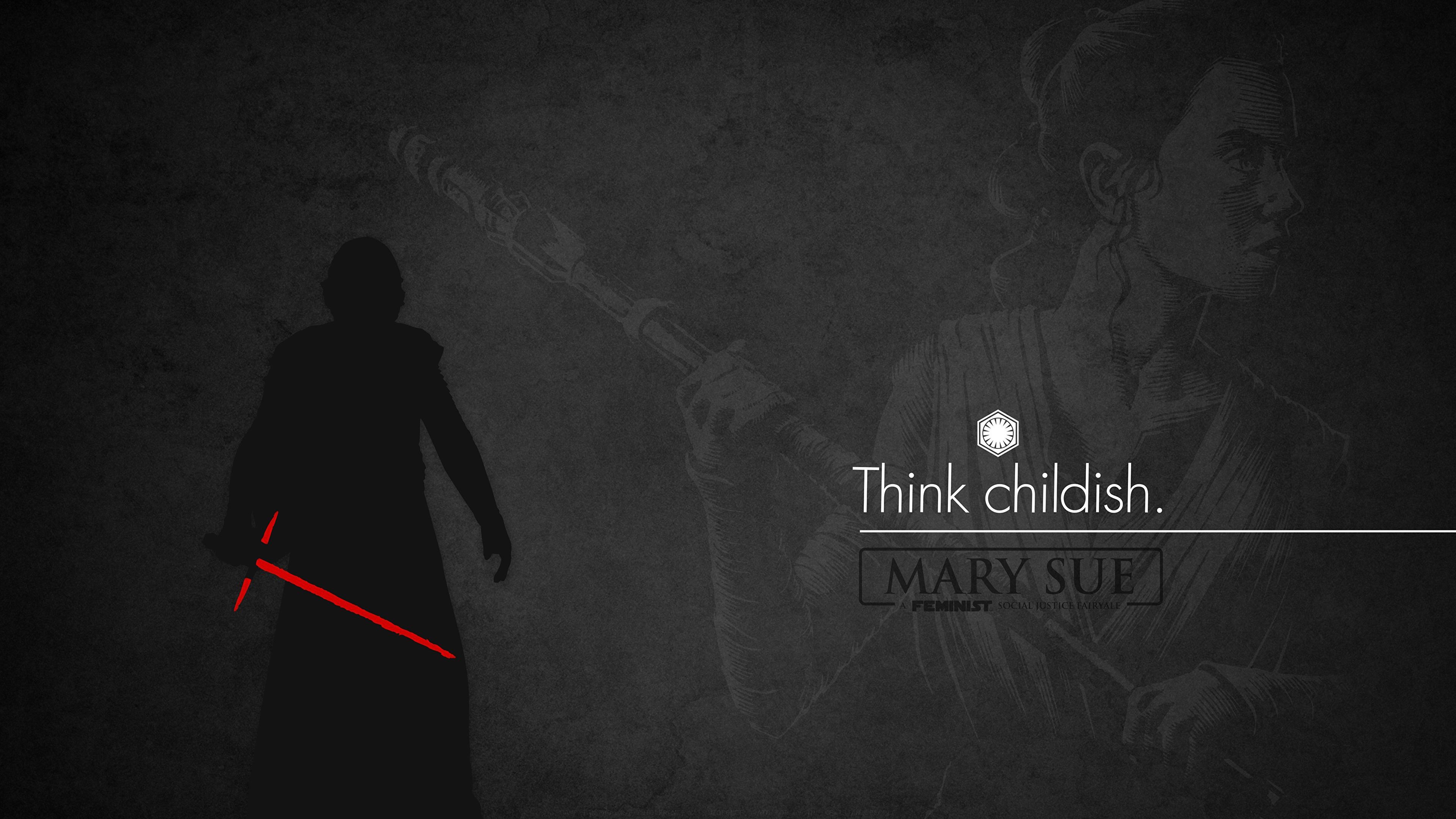 Фото Звёздные войны: Последние джедаи Дэйзи Ридли Мечи Силуэт Think childish Фильмы 3840x2160 меч меча с мечом силуэты силуэта кино