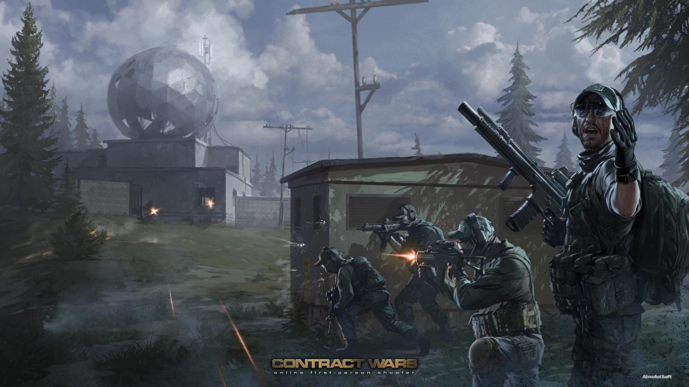 Contract wars скачать игру