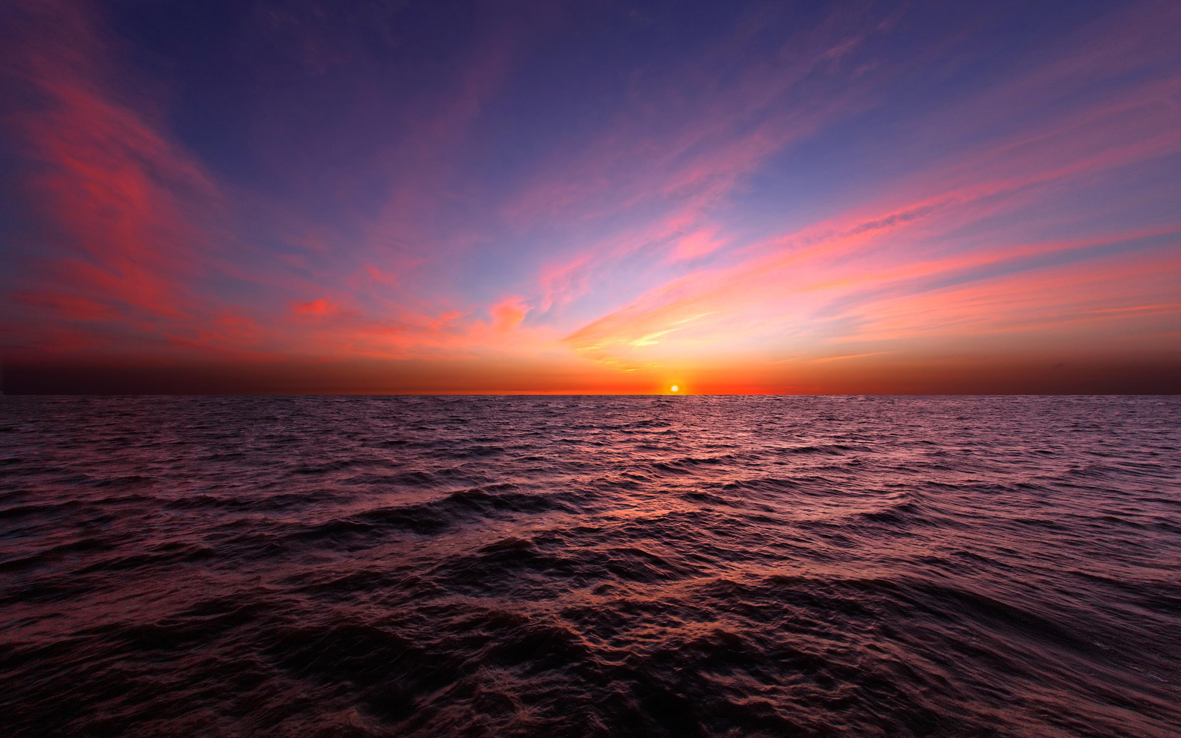 закат вода небо загрузить