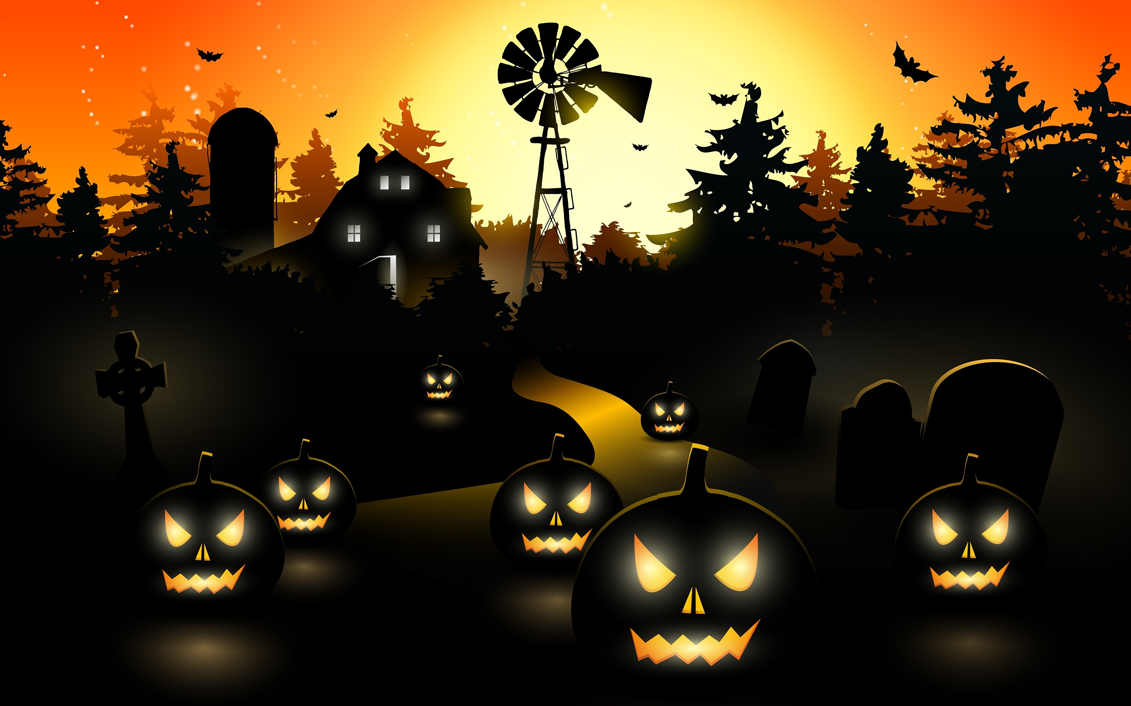 графика хэллоуин graphics Halloween загрузить