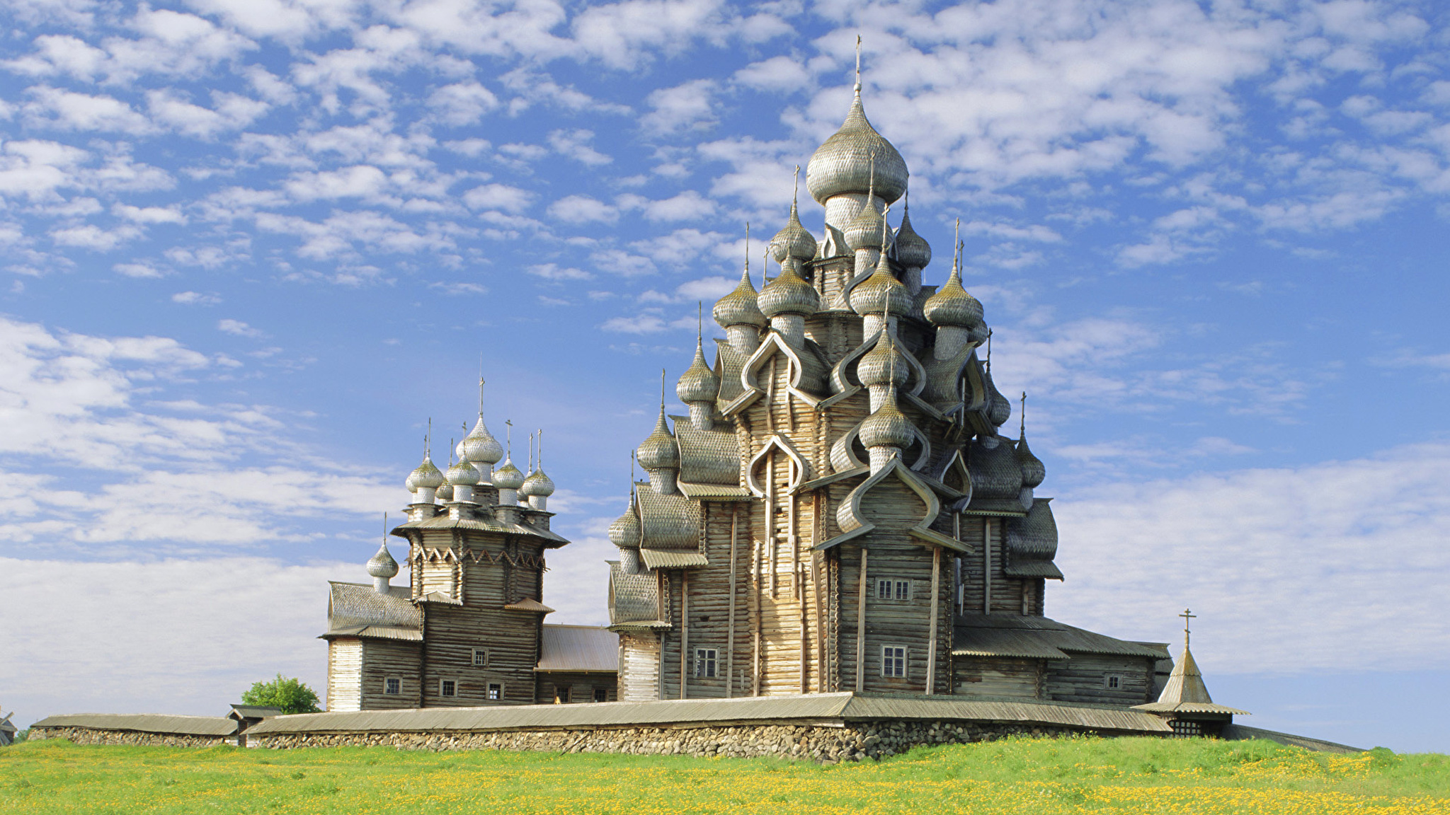 Церковь Кижи лодка Россия скачать