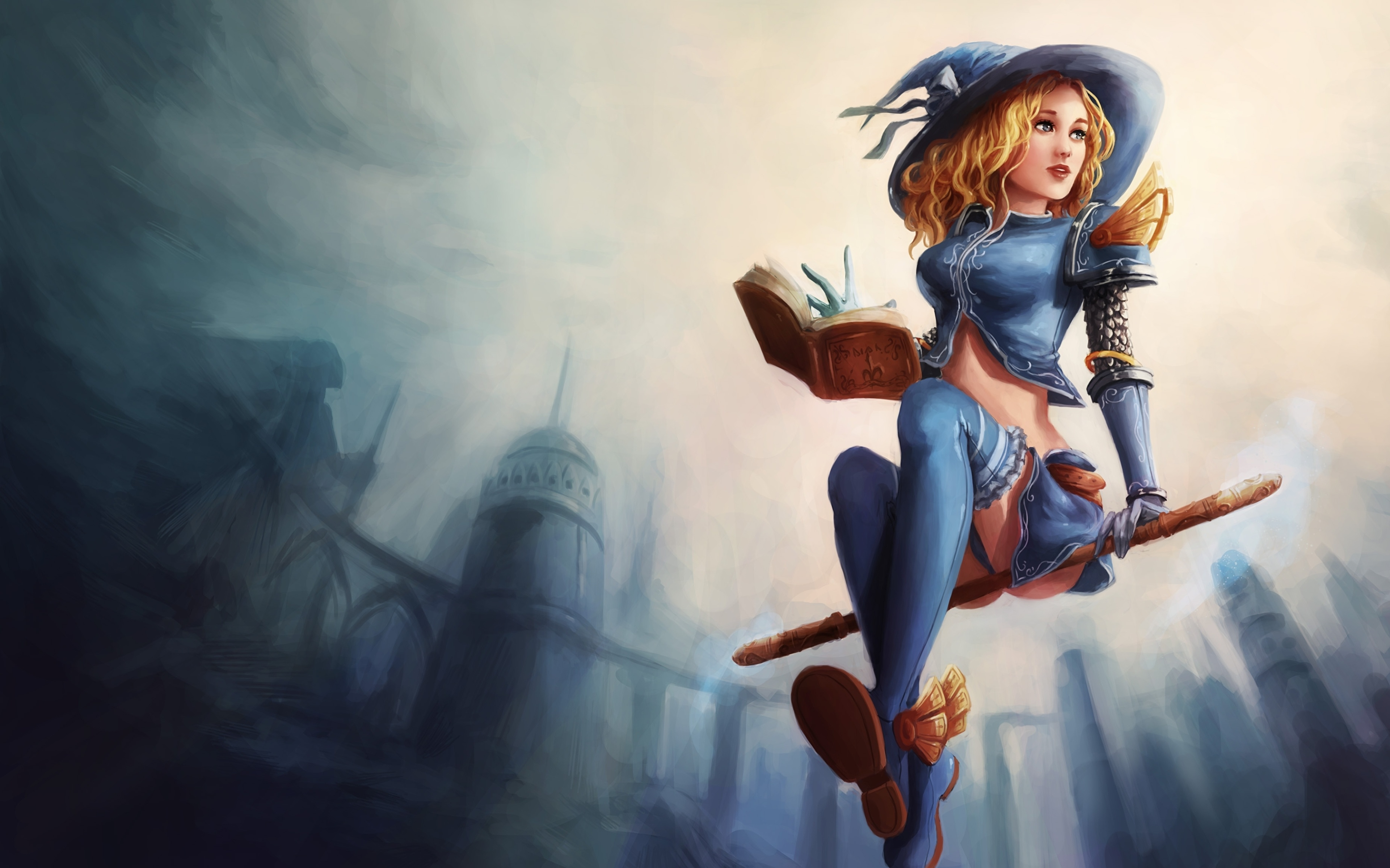 Ведьмочка на метле без смс