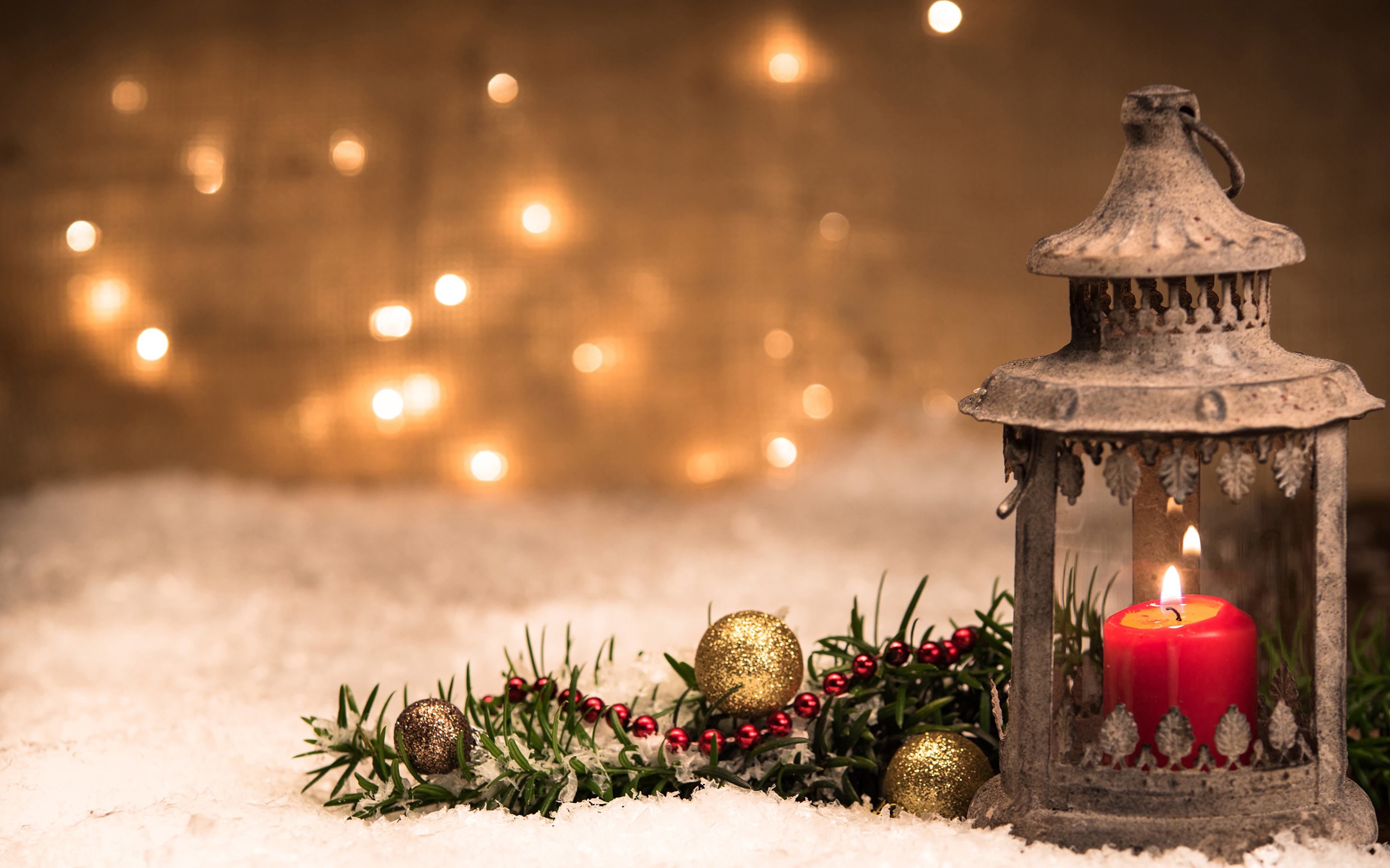 новый год фонарь сердца снег загрузить