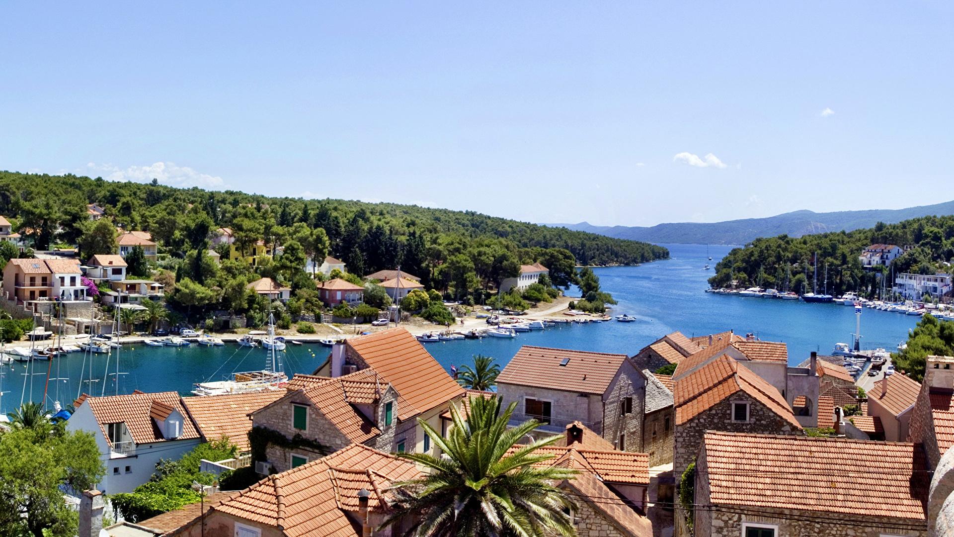 Обои курорт, Croata, дома. Города foto 11