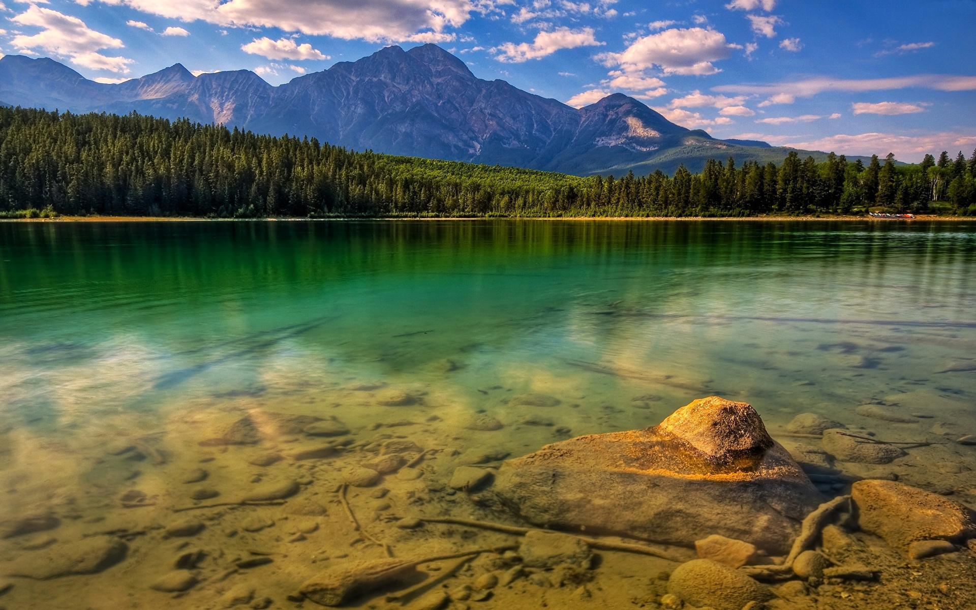 гора озеро лето mountain the lake summer бесплатно